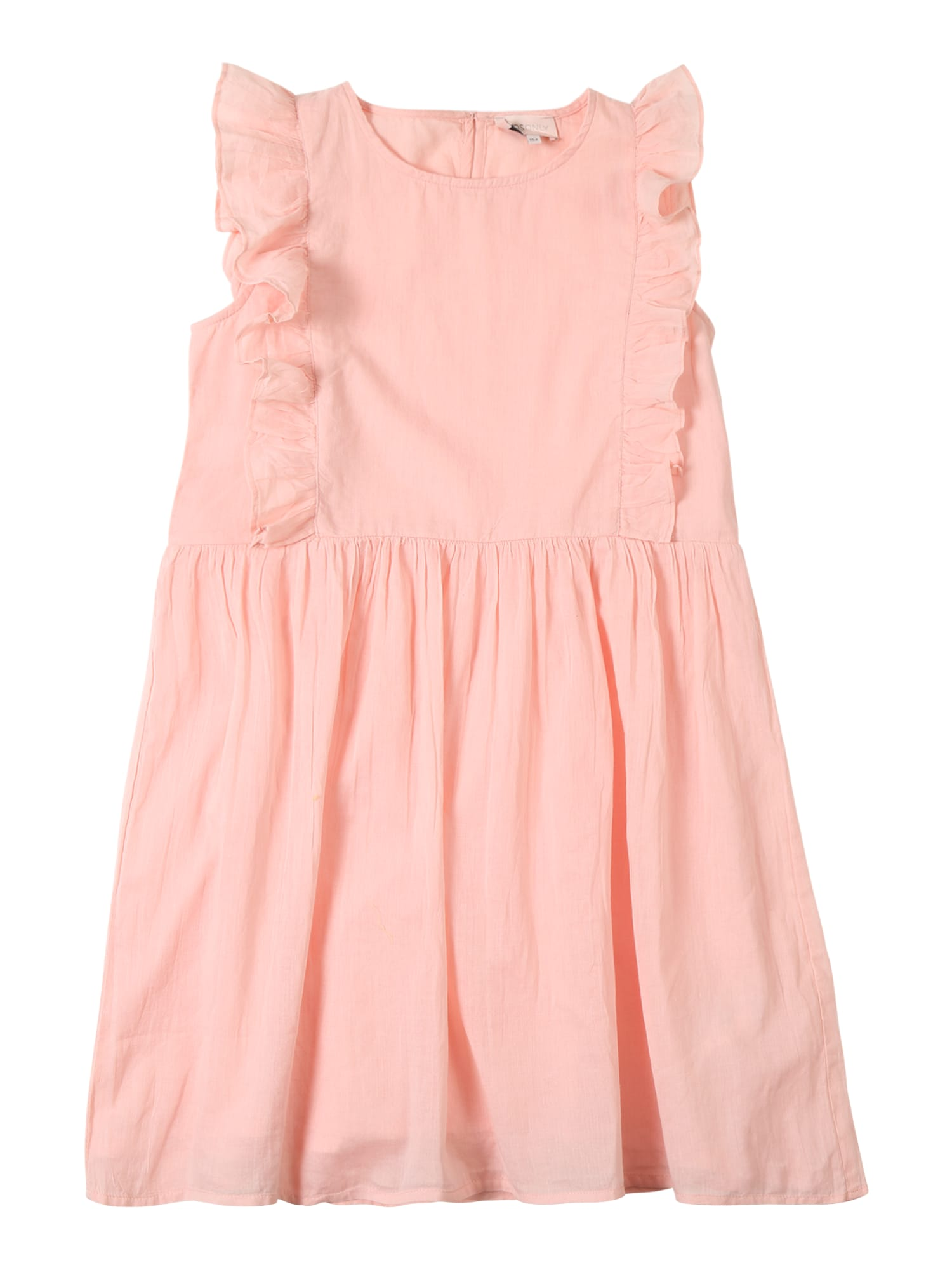 Šaty konELLA FRILL DRESS růže KIDS ONLY