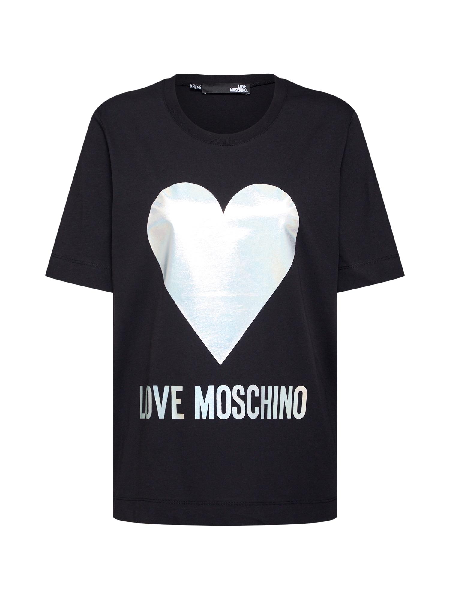Tričko MAGLIETTA černá Love Moschino