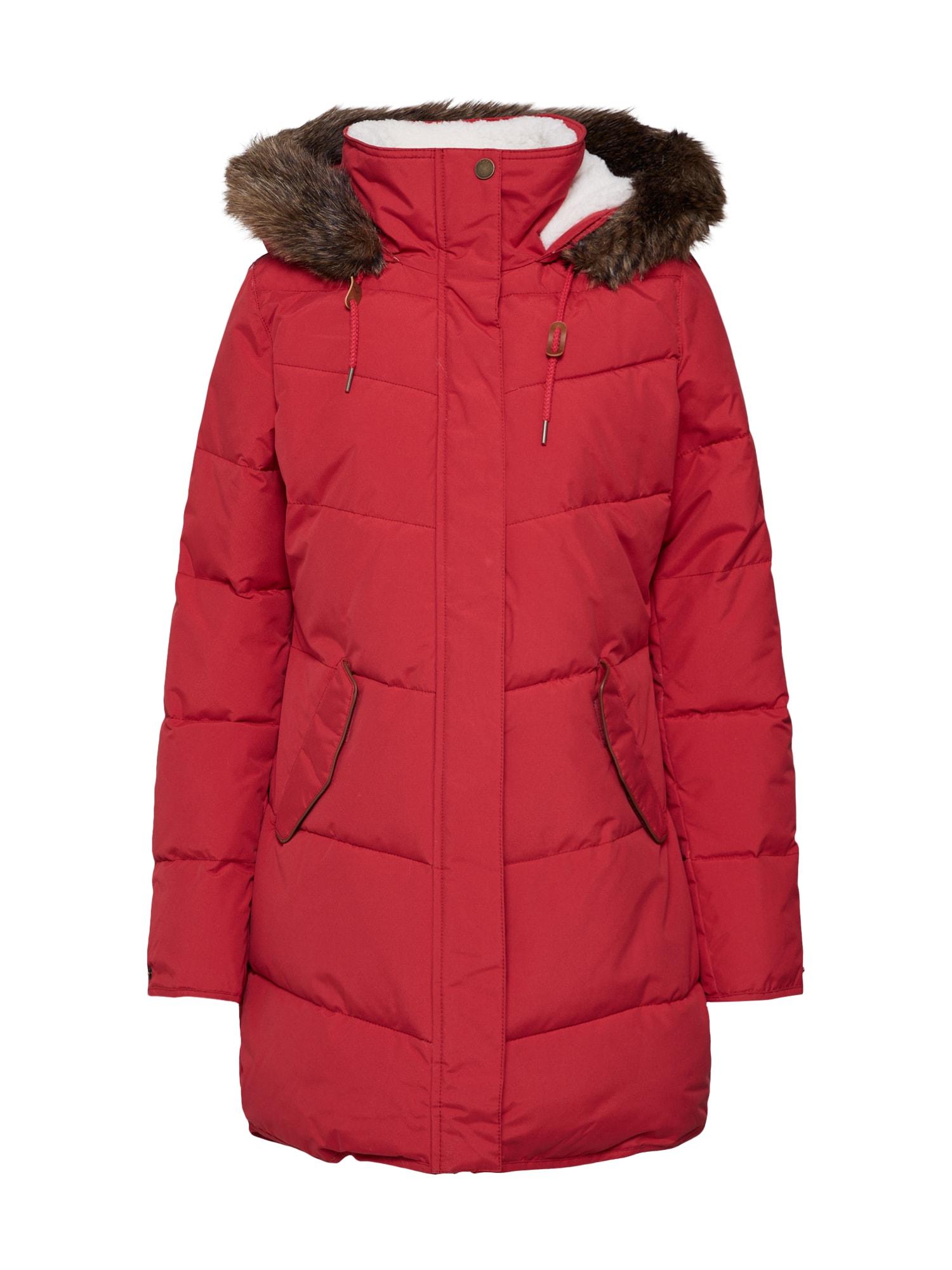 ROXY Zimní kabát 'Ellie'  červená