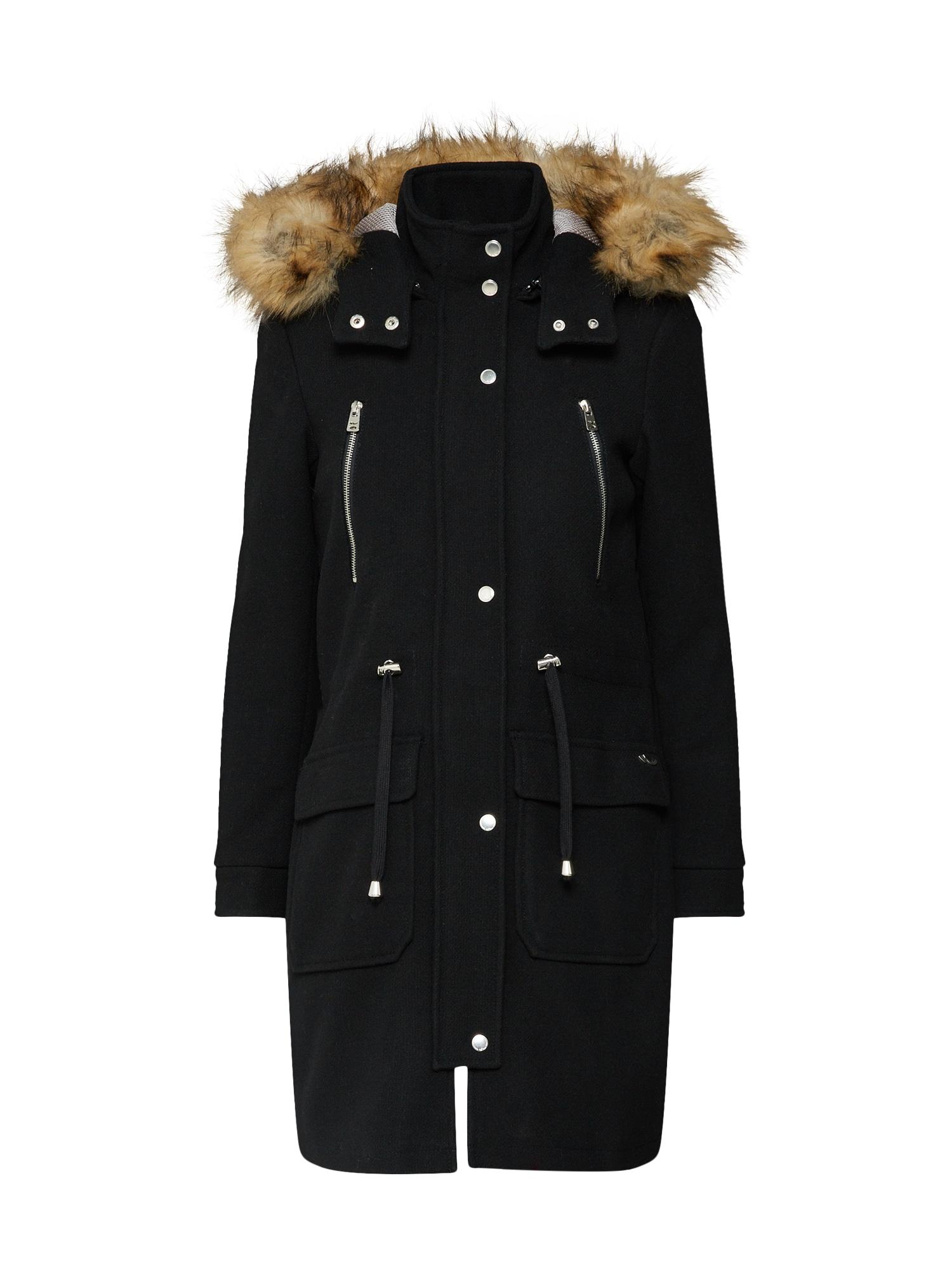 Přechodný kabát ODEJE COAT  černá LTB
