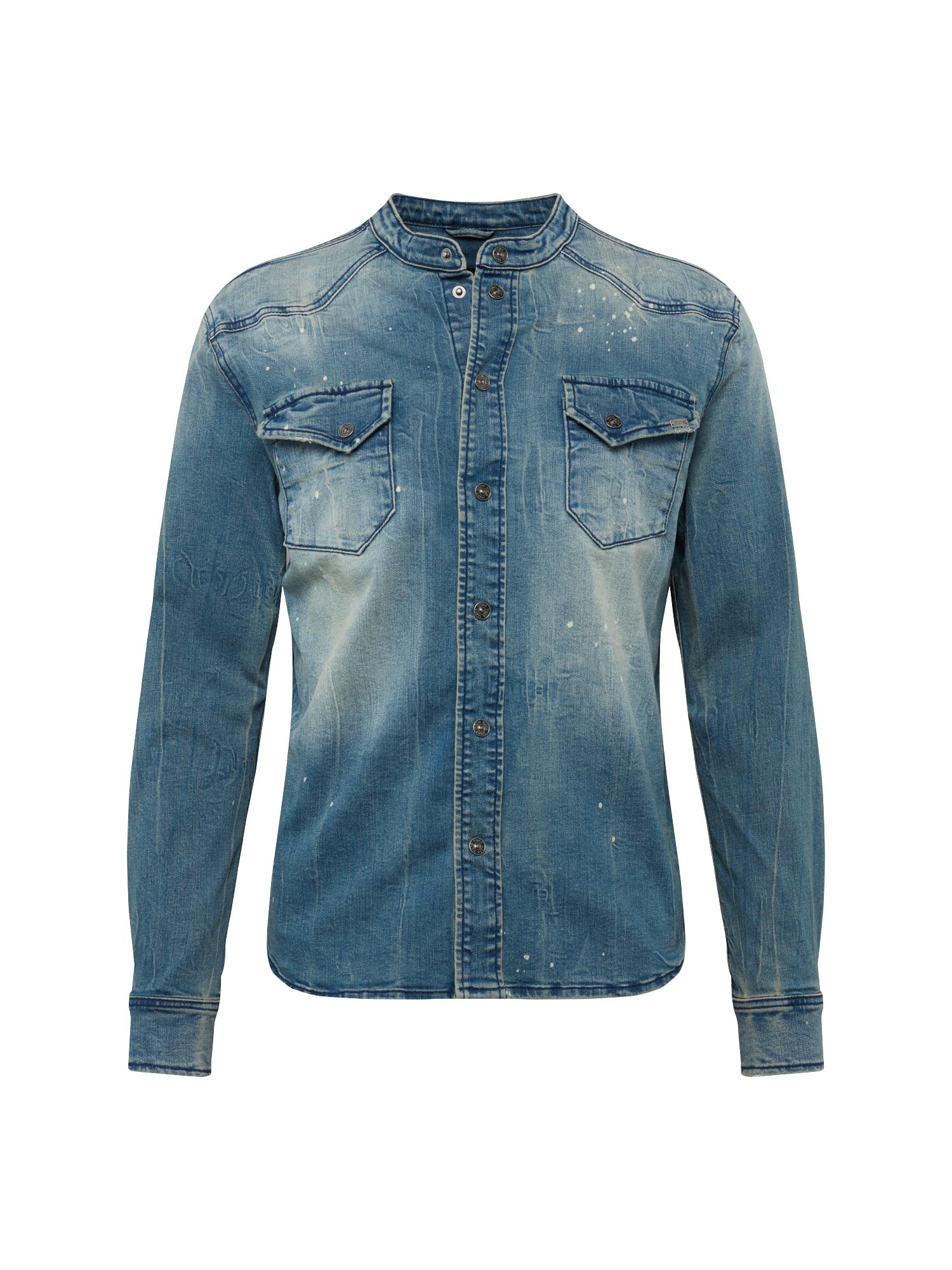 Košile Freddy 9153 modrá džínovina Tigha