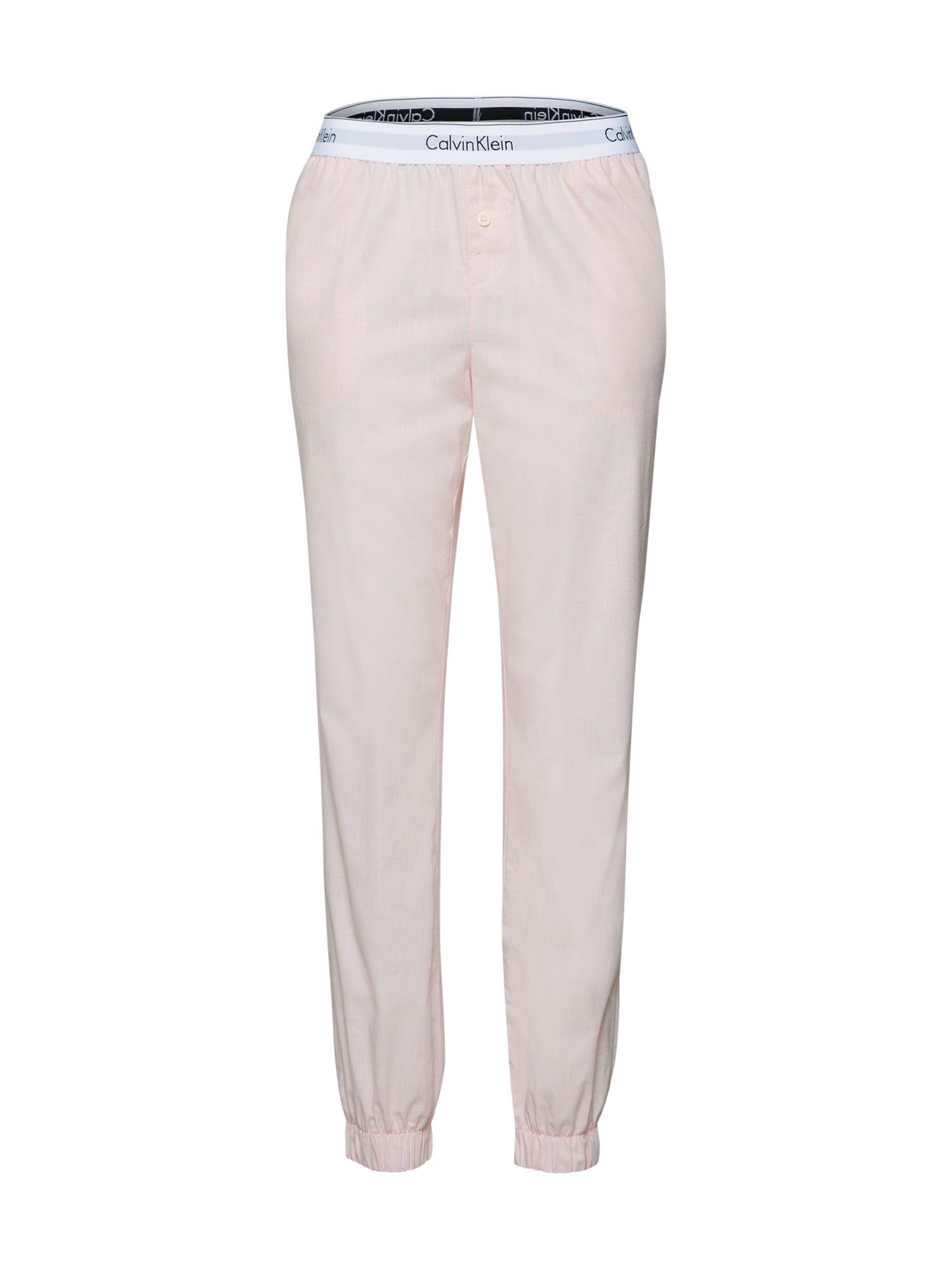 Pyžamové kalhoty růžová Calvin Klein Underwear