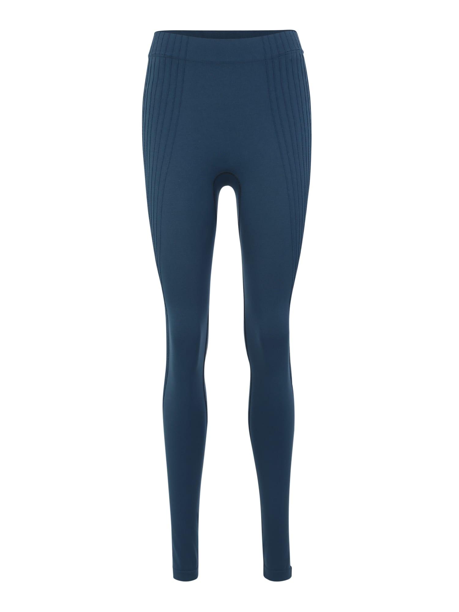 Sportovní kalhoty PURE CERAMIWARM modrá ODLO