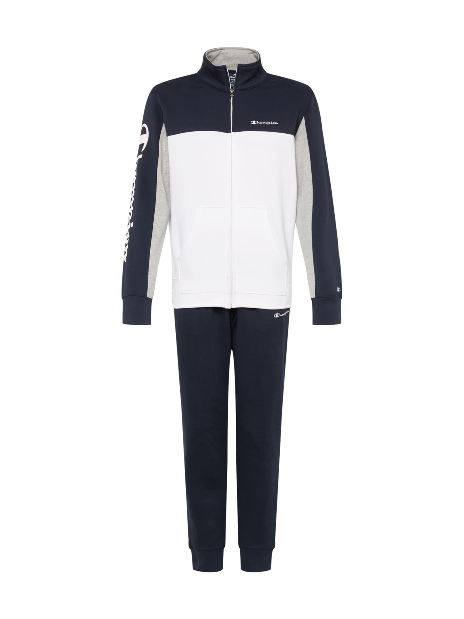 Domácí oblečení Full Zip Suit námořnická modř bílá Champion Authentic Athletic Apparel