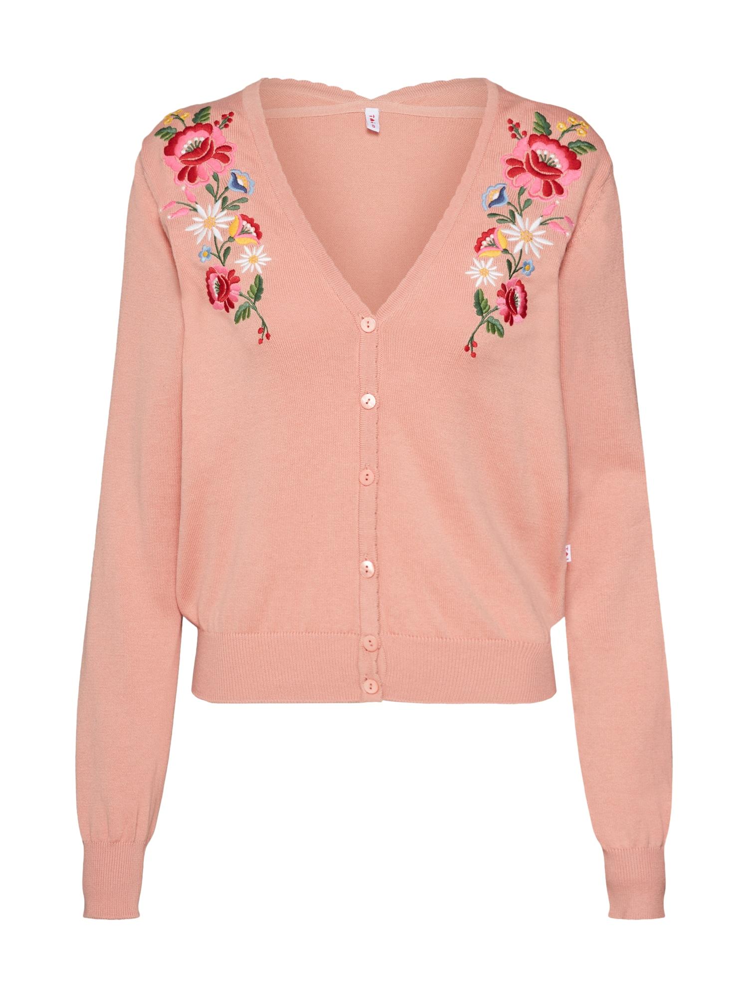 Kardigan piroschka bouquet cardy mix barev růžová Blutsgeschwister