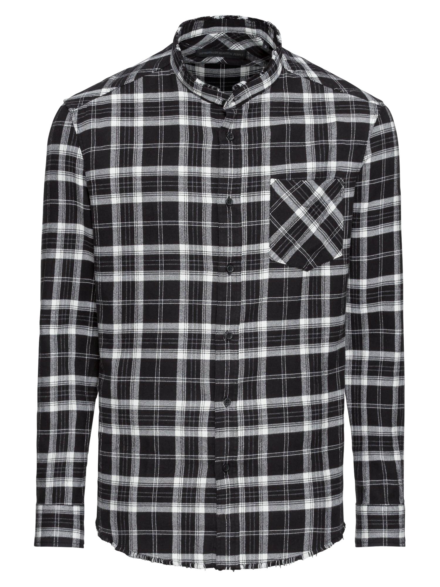 Košile DONNY šedá černá bílá DRYKORN