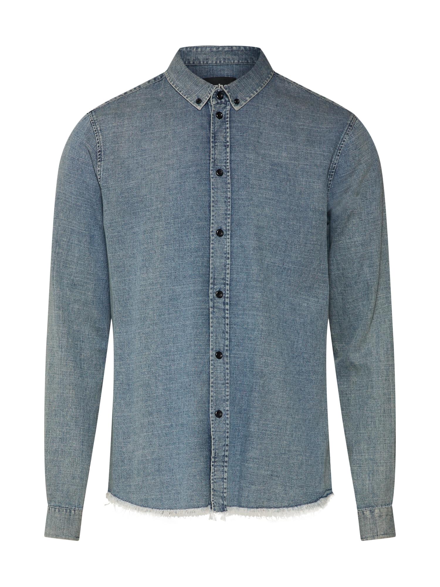 Košile Orben modrá džínovina Tigha