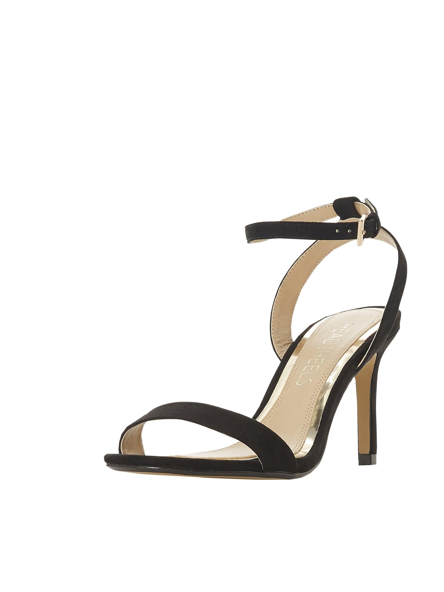 Páskové sandály Milania černá Head Over Heels