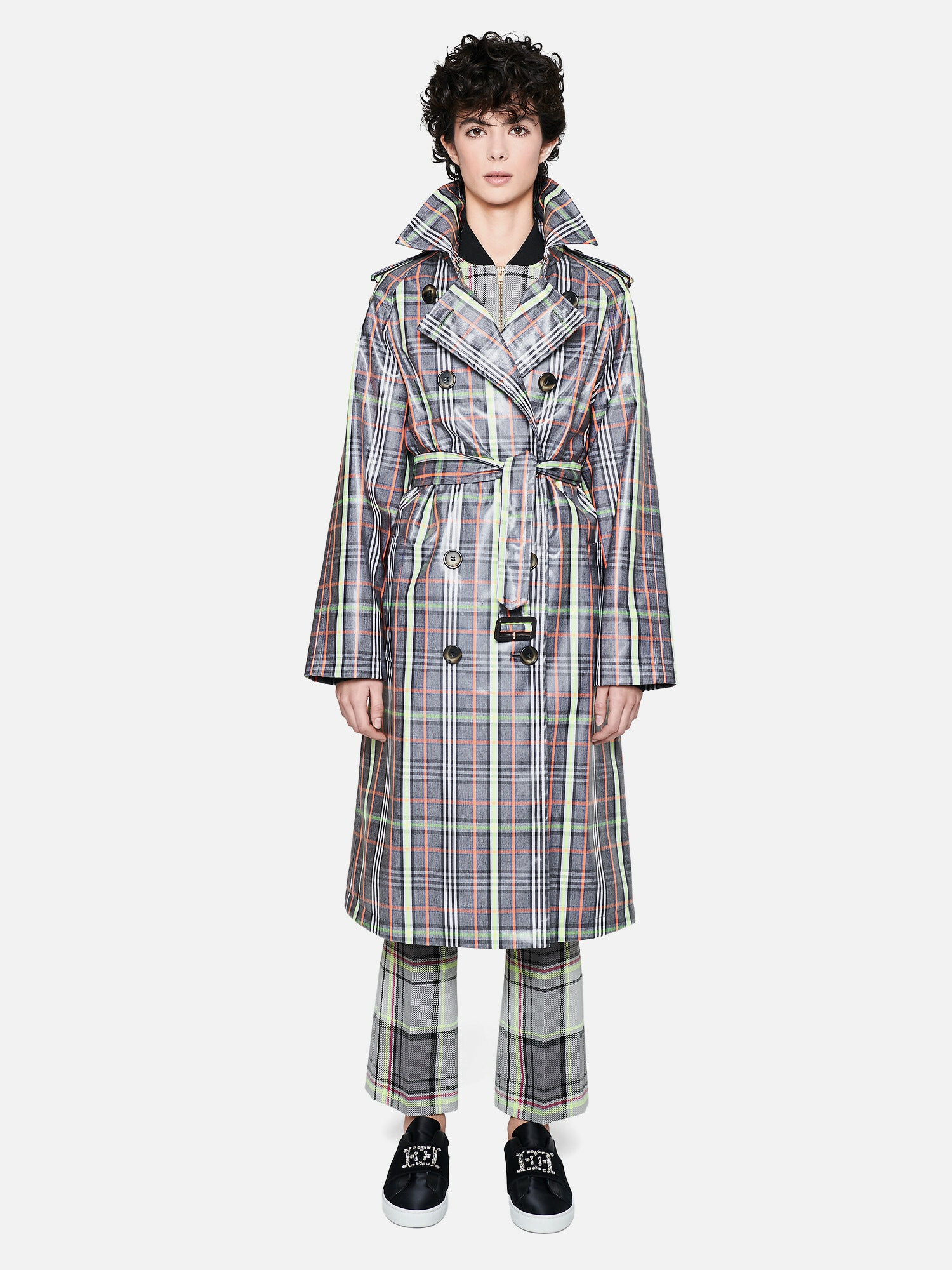 escada sport - Trenchcoat ' Macheck '
