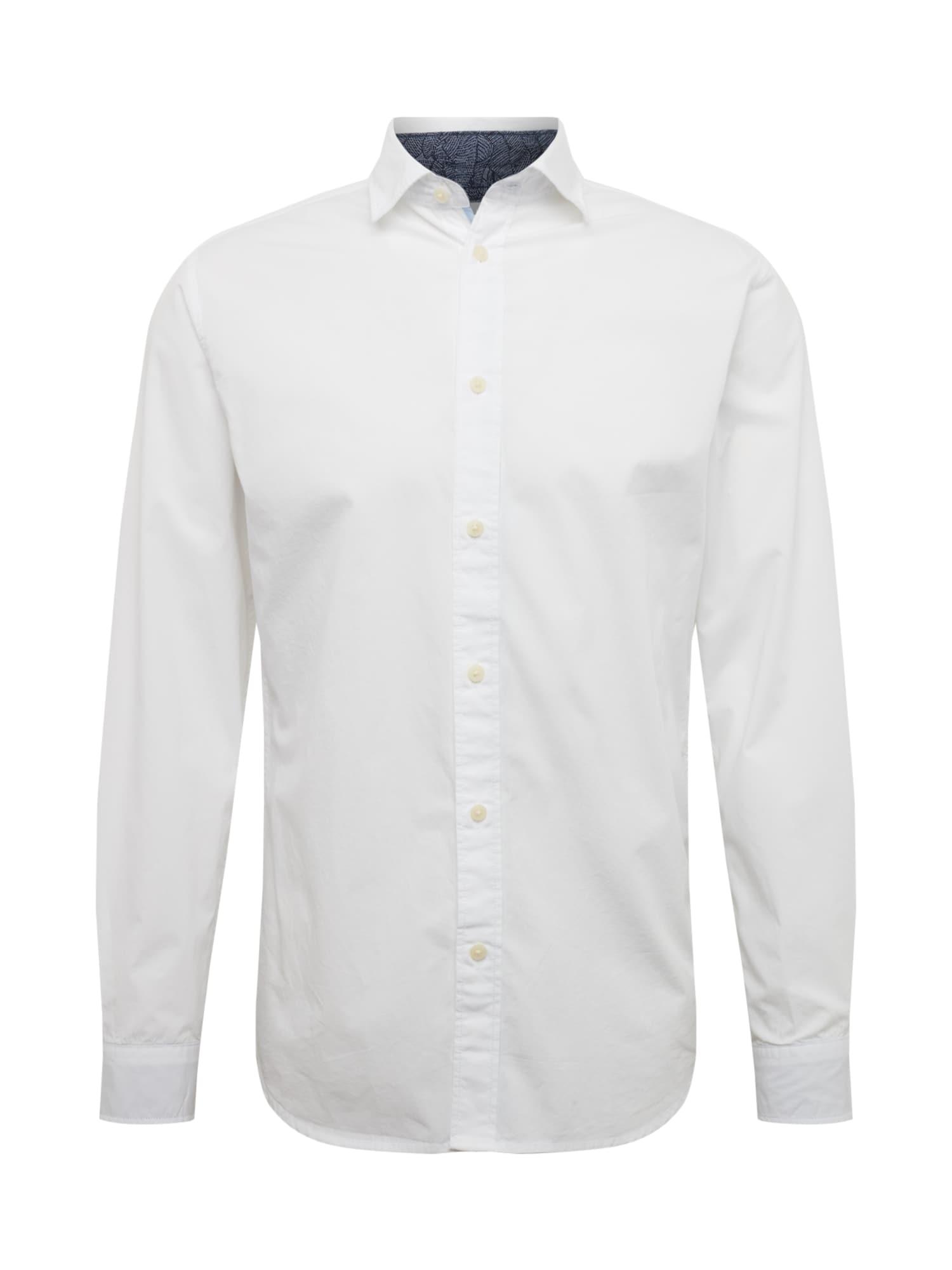 Společenská košile bílá SELECTED HOMME