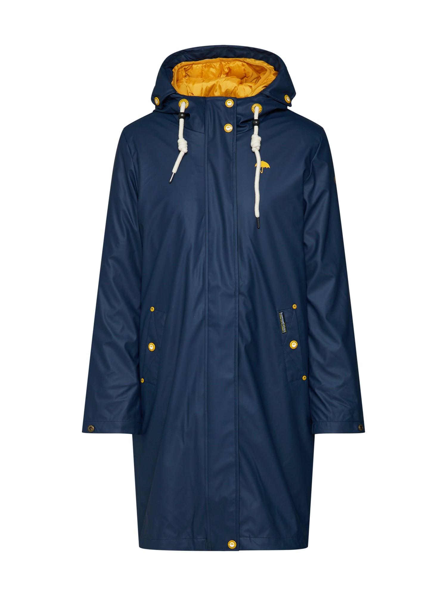Schmuddelwedda Přechodný kabát  marine modrá