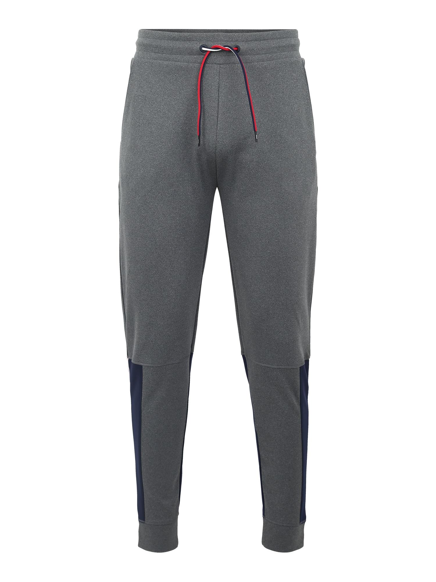 Sportovní kalhoty Jogger Tape 68 tmavě modrá šedá Tommy Sport