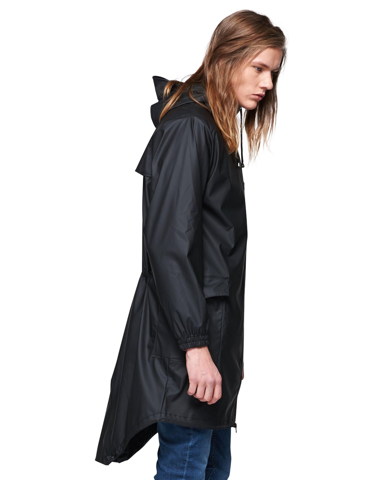 RAINS, Dames Functionele mantel, zwart