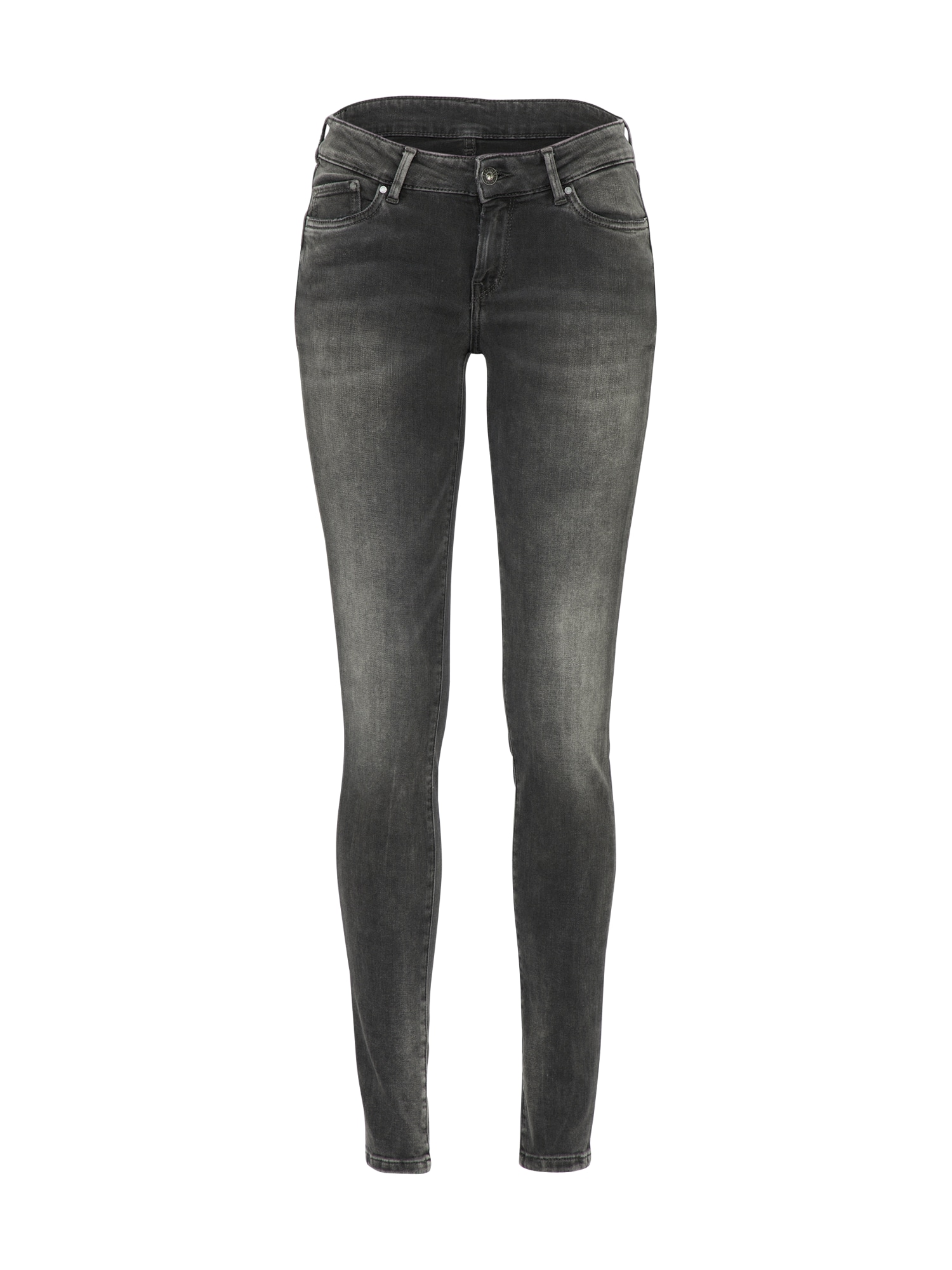 Pepe Jeans Dames Jeans Pixie donkergrijs