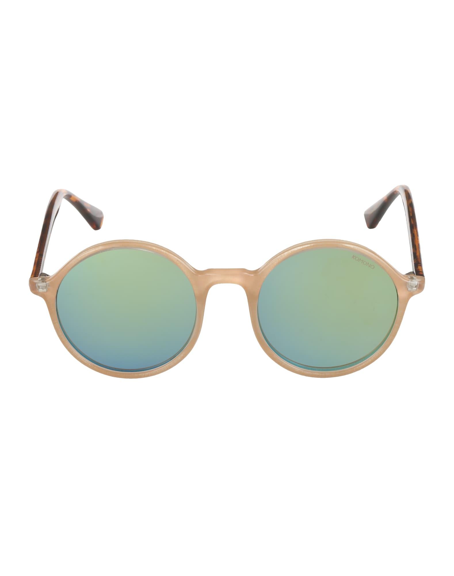 Sluneční brýle Madison béžová hnědá Komono