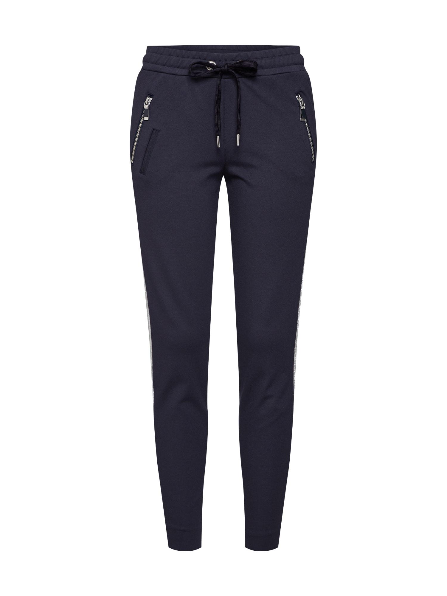 Kalhoty Levon Carell Pant námořnická modř stříbrná MOS MOSH