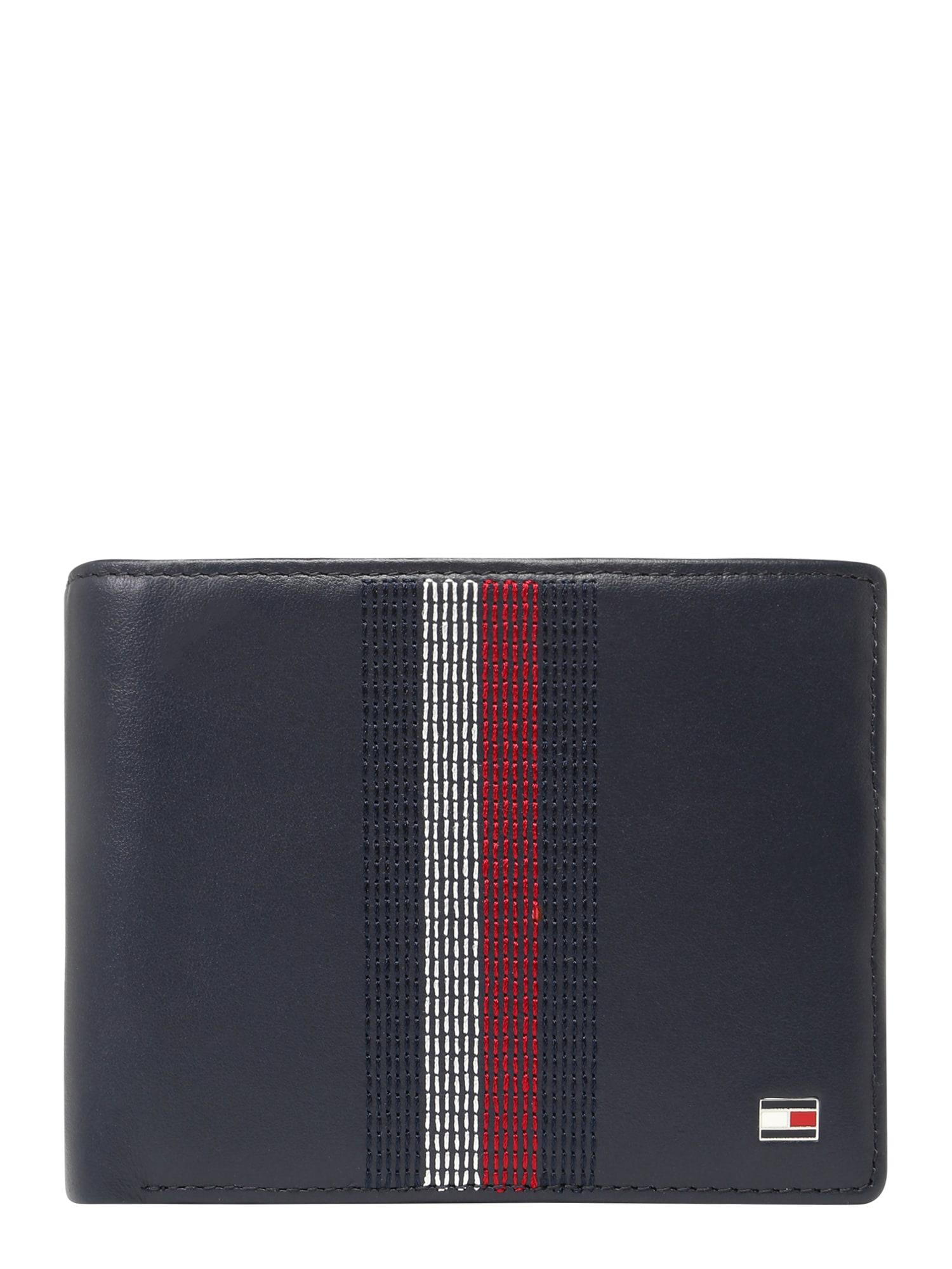 Peněženka STITCHED LEATHER EXTRA CC & COIN tmavě modrá TOMMY HILFIGER
