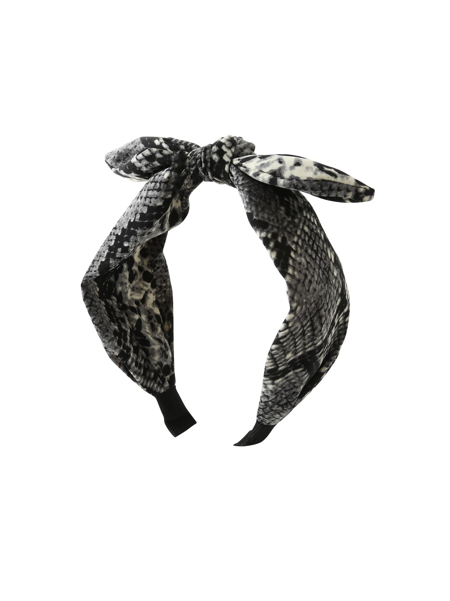 Šperky do vlasů Snake  tmavě šedá  černá Orelia