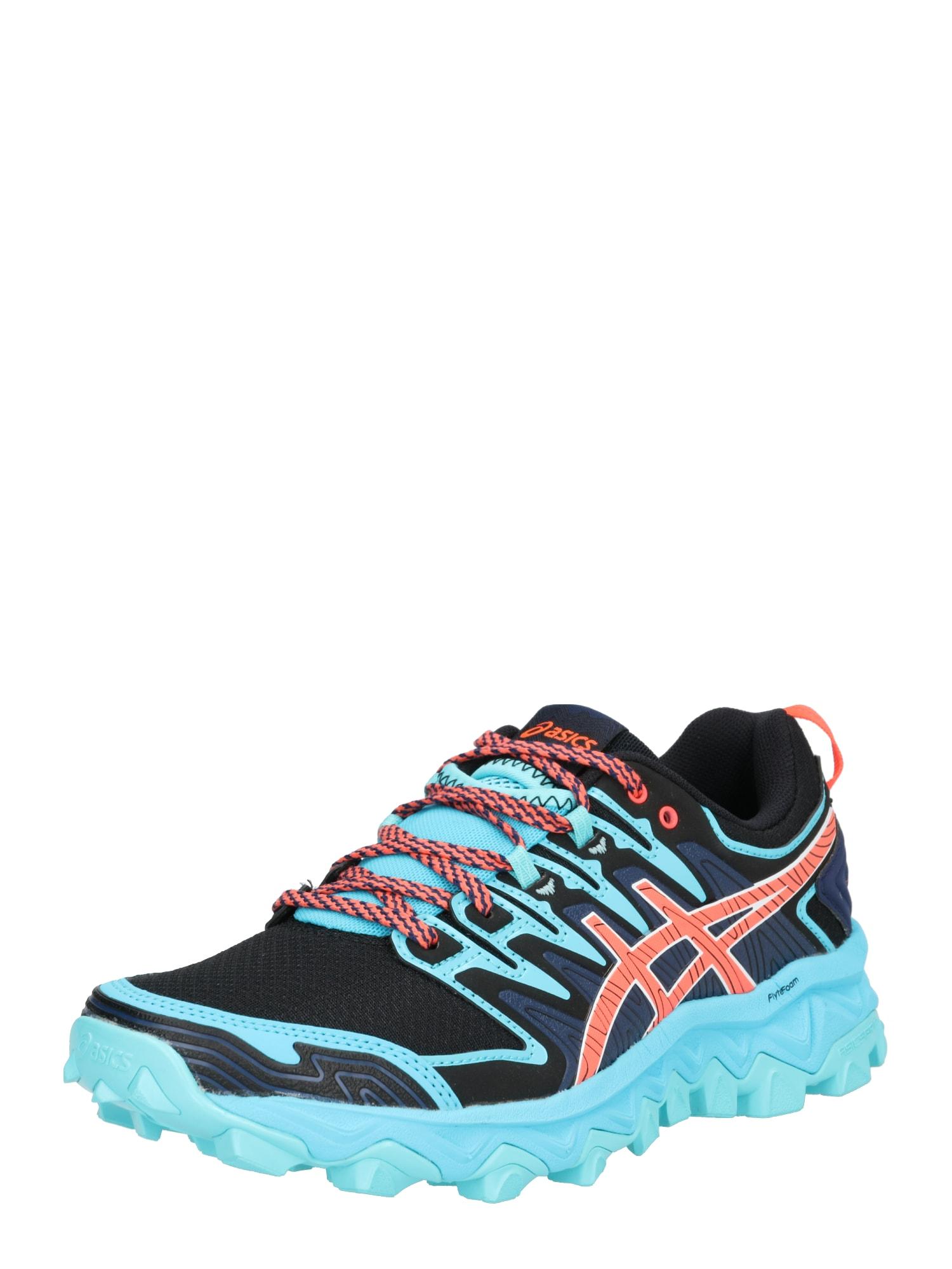 Běžecká obuv Gel-Fujitrabuco 7 aqua modrá tmavě modrá oranžová ASICS