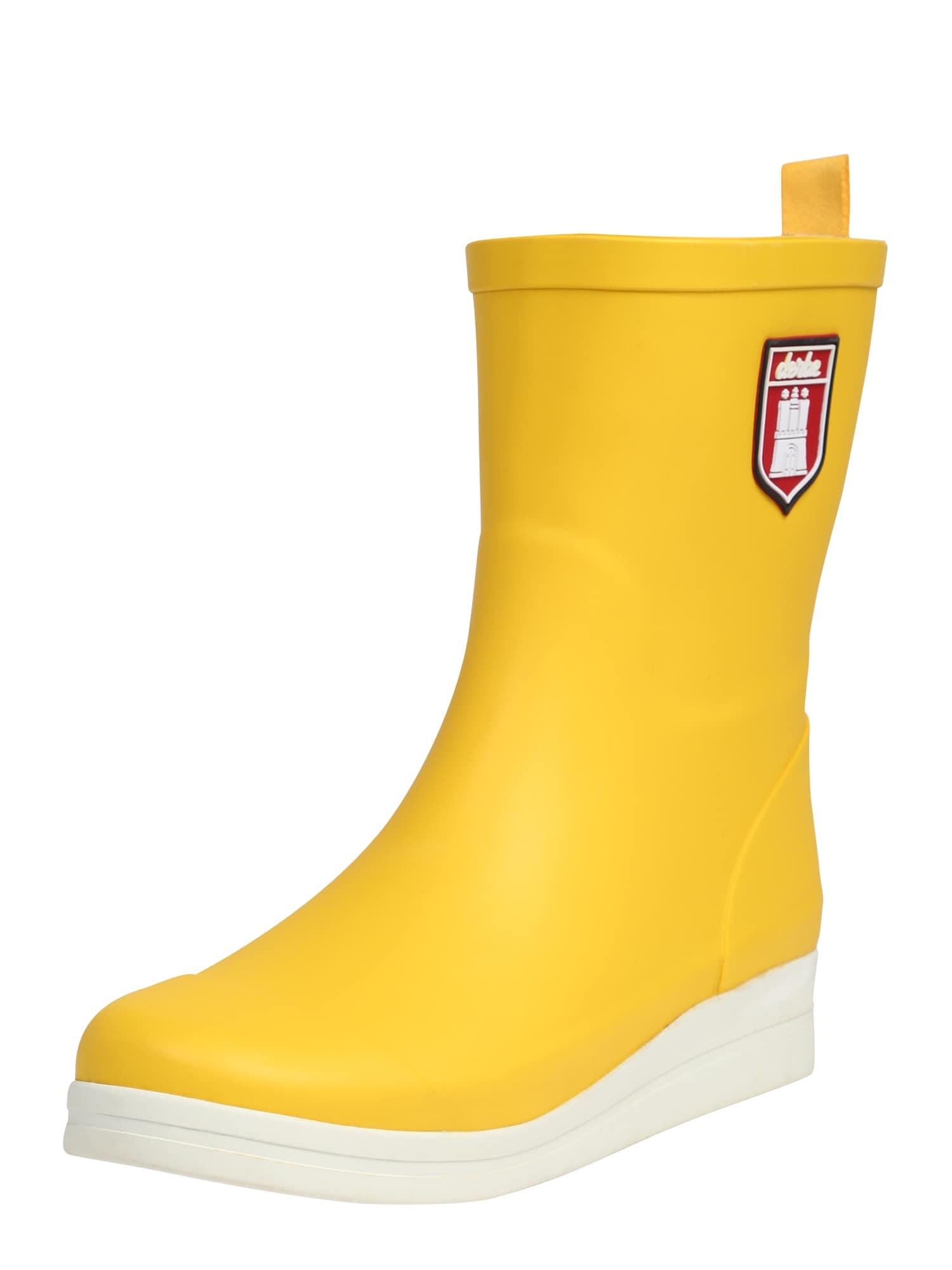 Holínky Shietwedderbotten žlutá Derbe