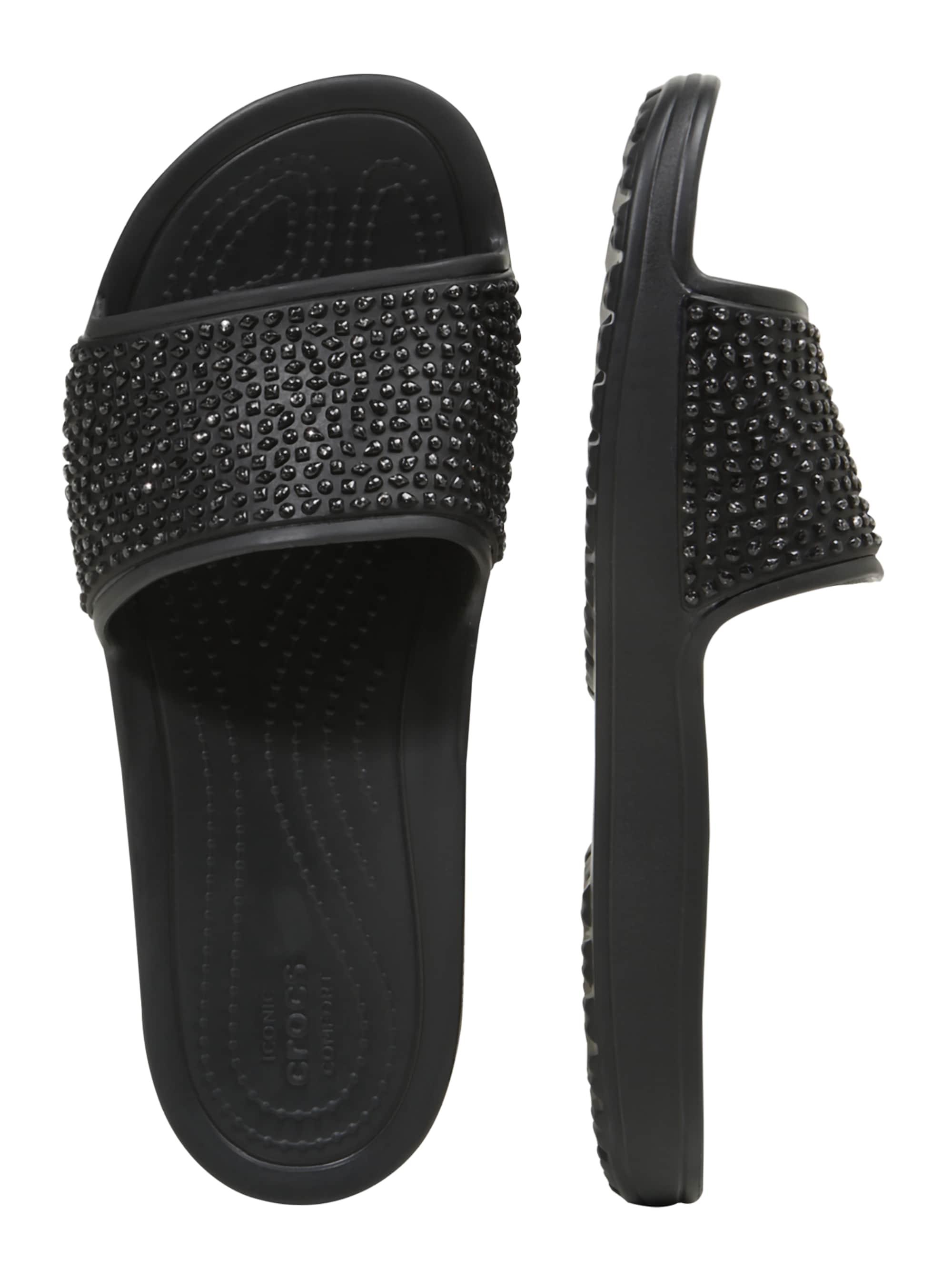 Crocs Klapki 'Sloane Embellished'  czarny