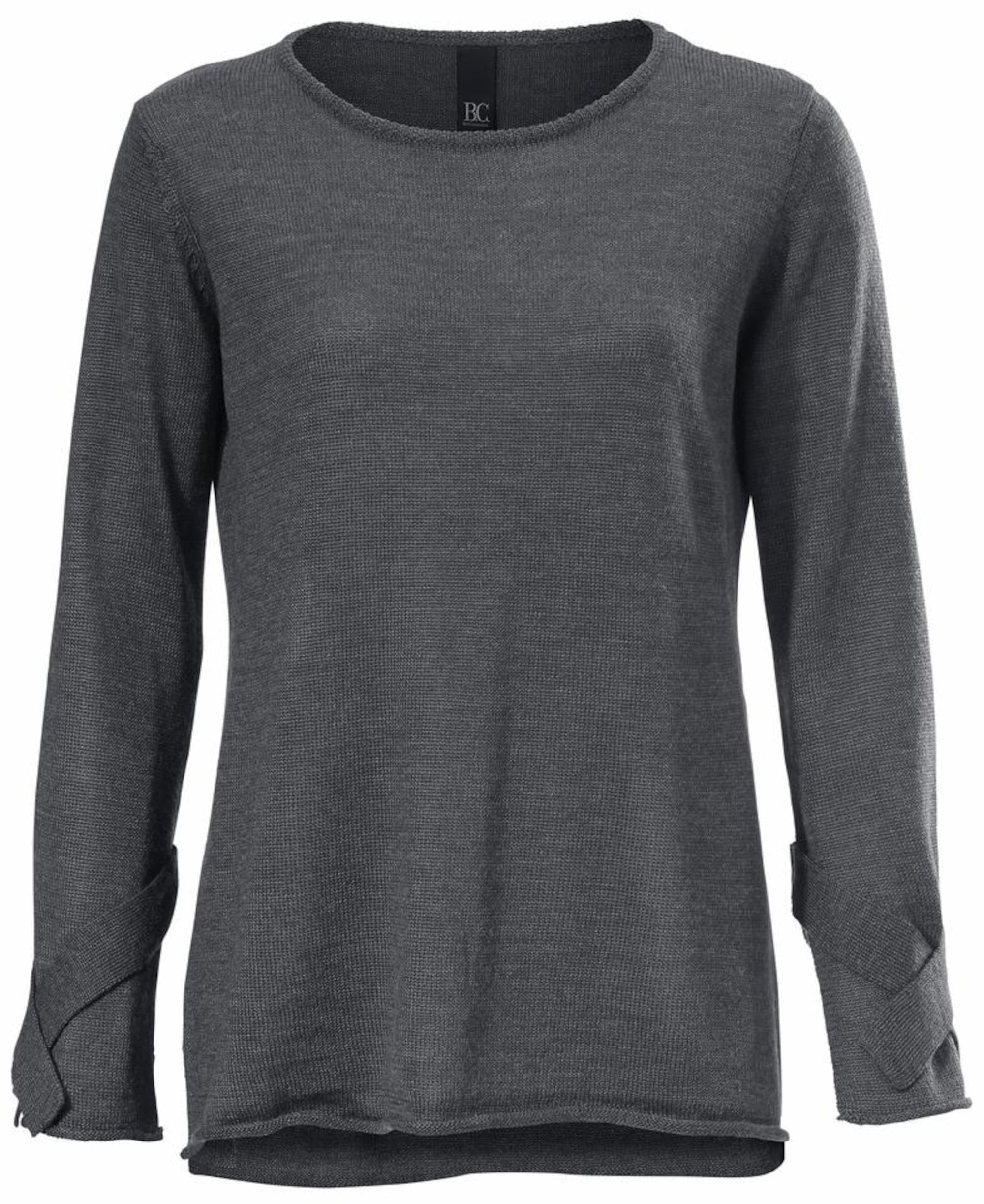 Oversized-Pullover mit Wolle