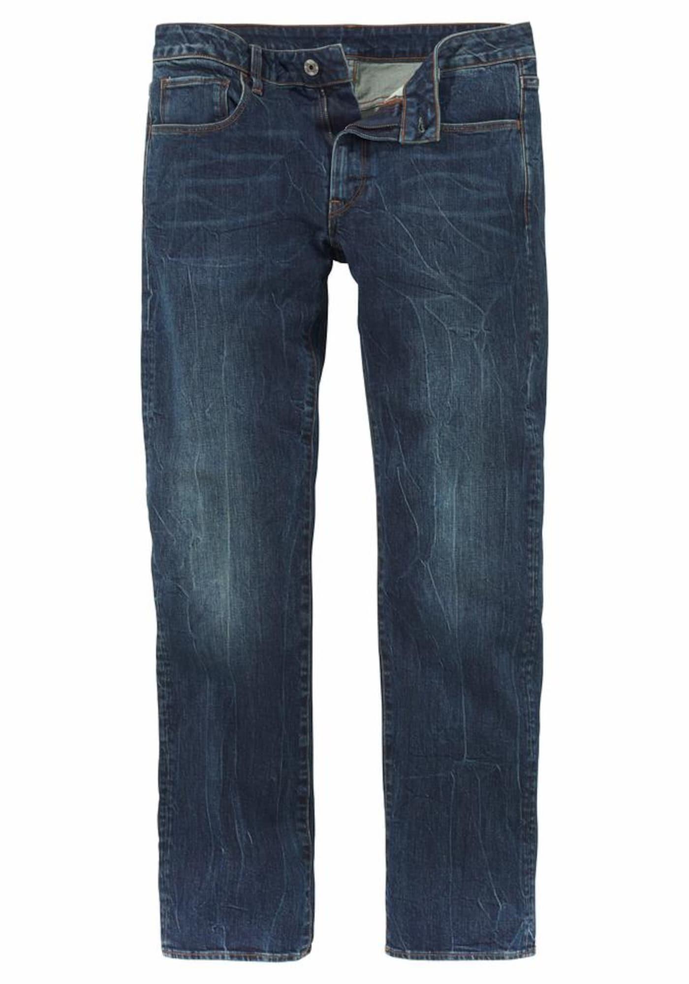 G-STAR RAW Heren Jeans blue denim