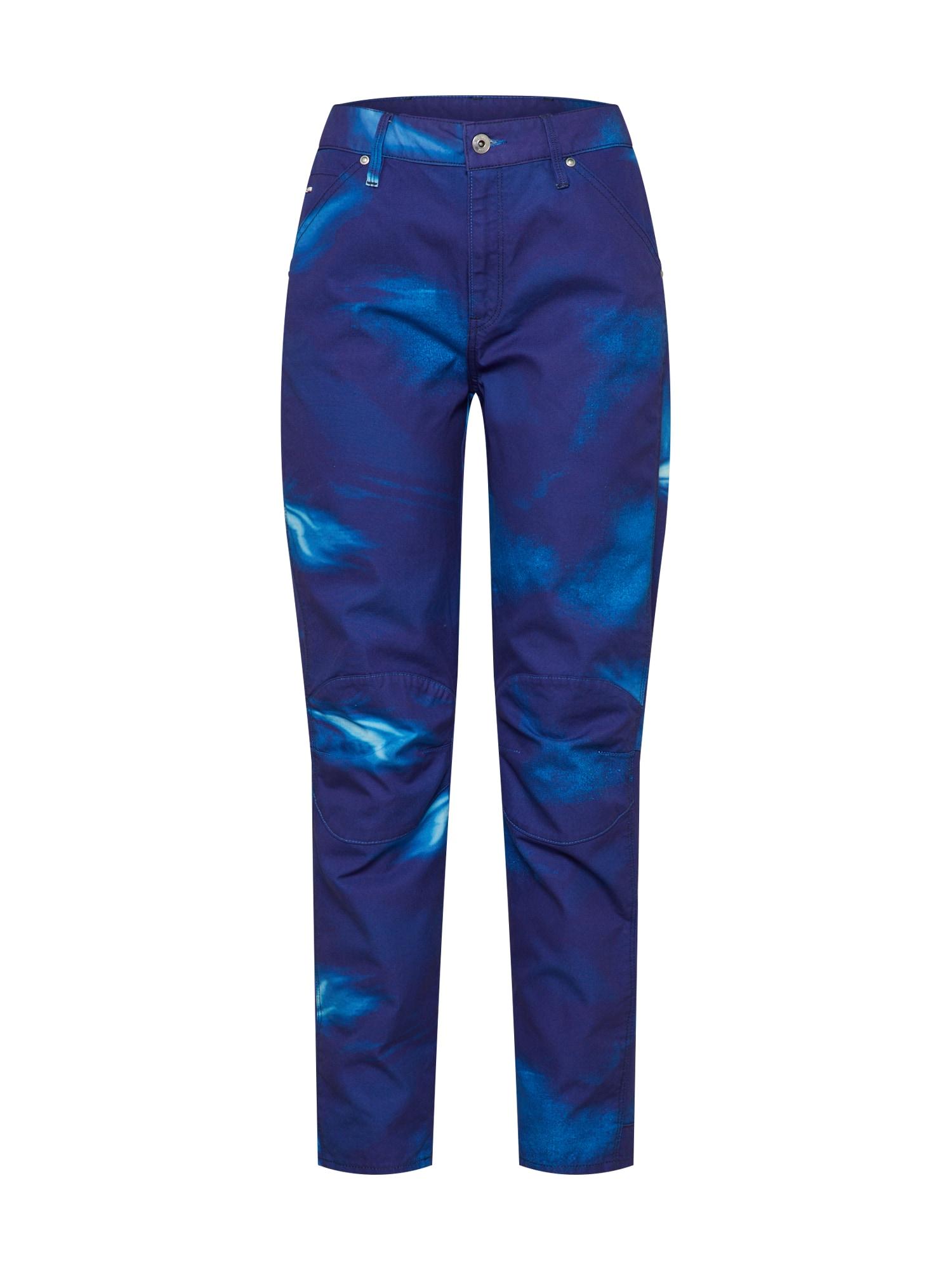 Džíny 5622 3D kobaltová modř G-STAR RAW
