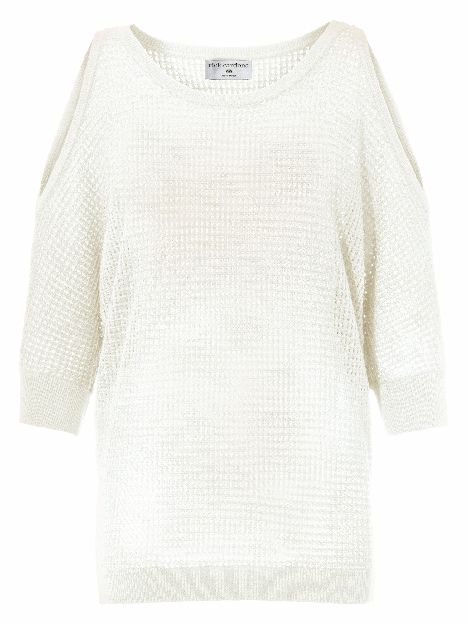 Longpullover mit Cut-Outs an den Schultern | Bekleidung > Pullover > Longpullover | heine
