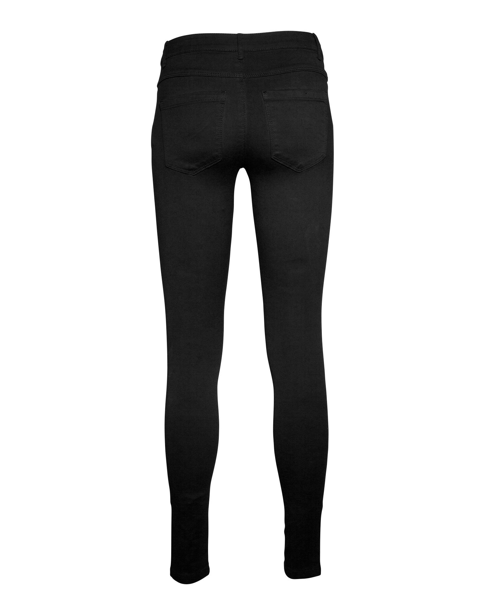 ONLY, Dames Jeans 'Royal', black denim