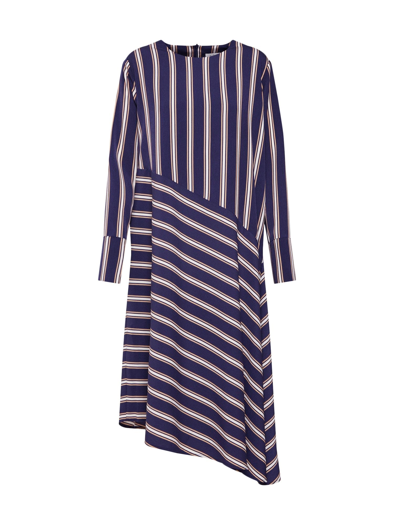 Šaty Bobbi Dress modrá džínovina NORR