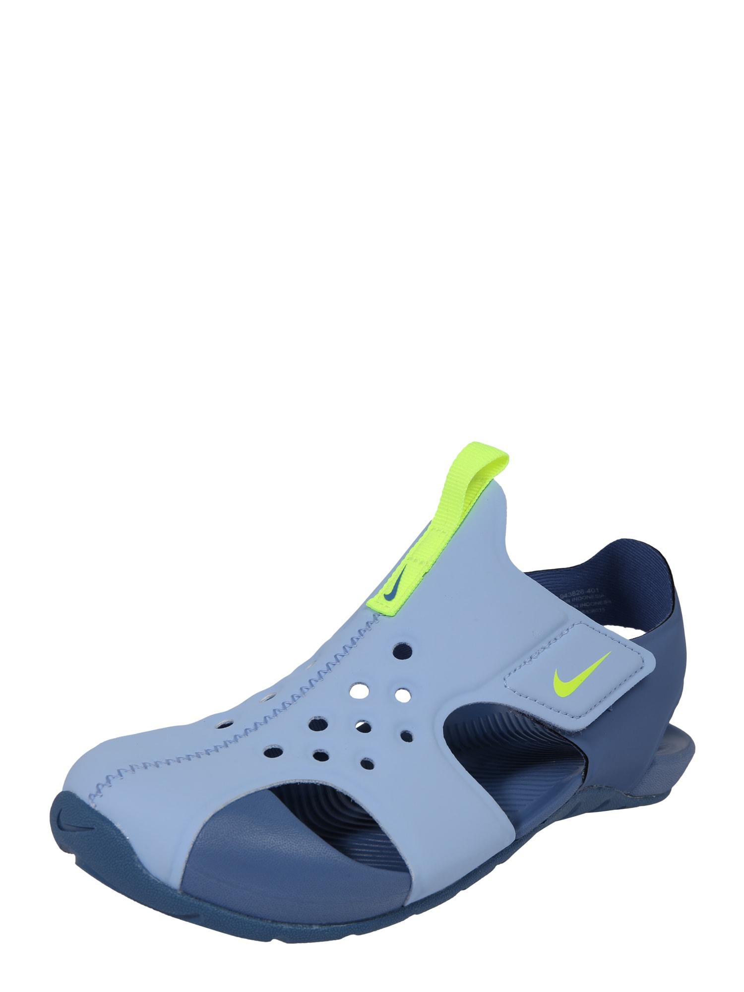 Plážovákoupací obuv Sunray Protect 2 TD světlemodrá tmavě modrá Nike Sportswear