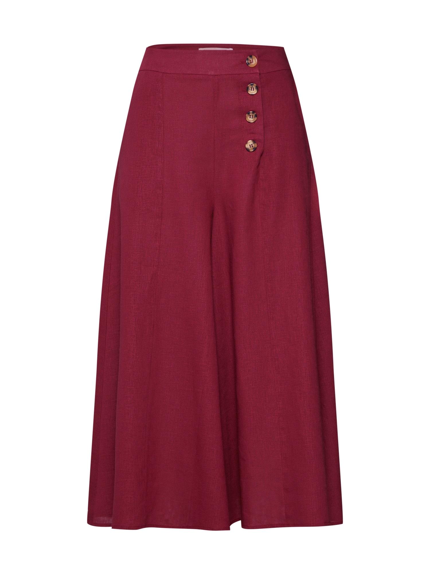 Kalhoty burgundská červeň Funky Buddha