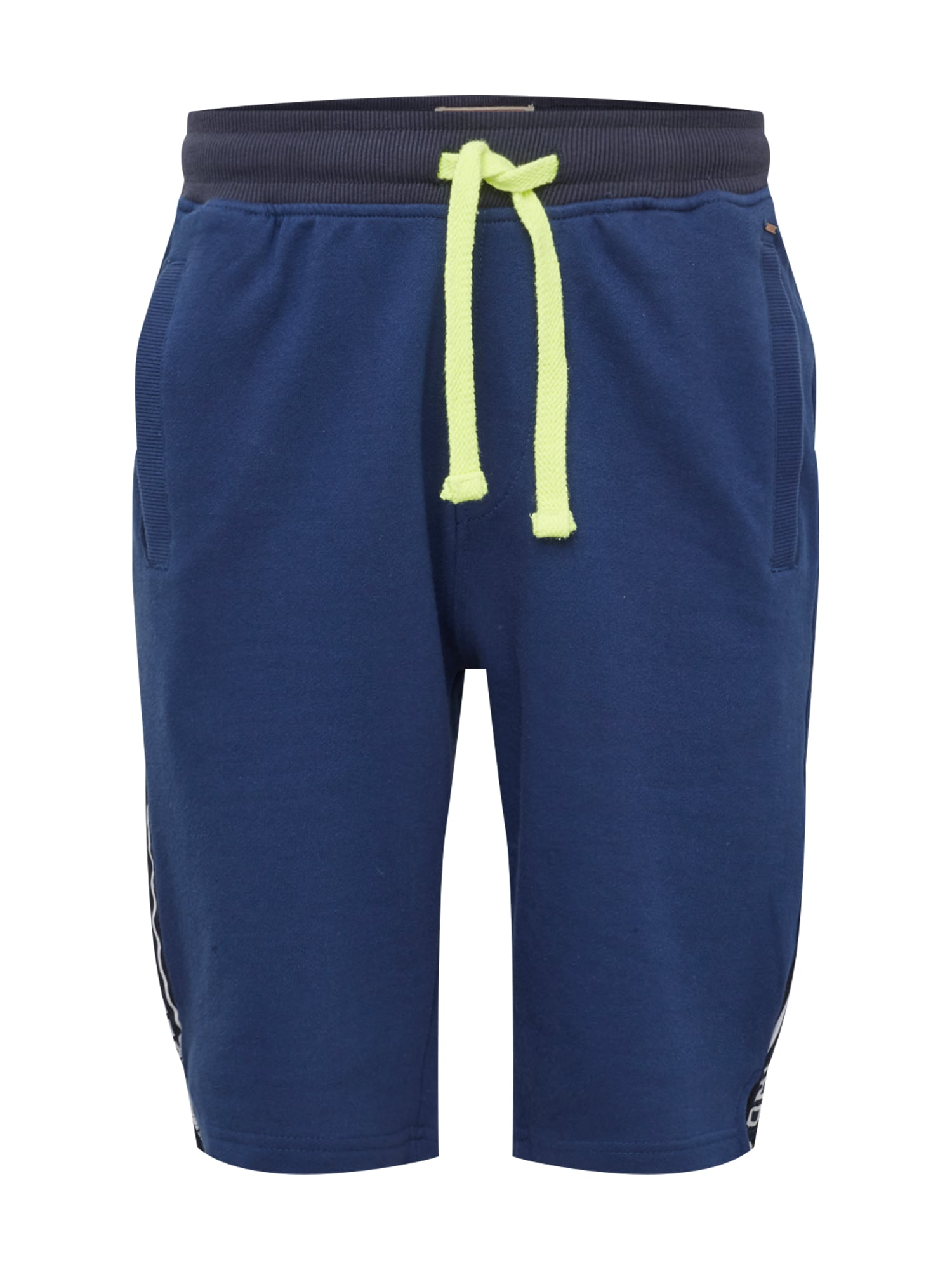 Kalhoty tmavě modrá svítivě žlutá bílá Petrol Industries
