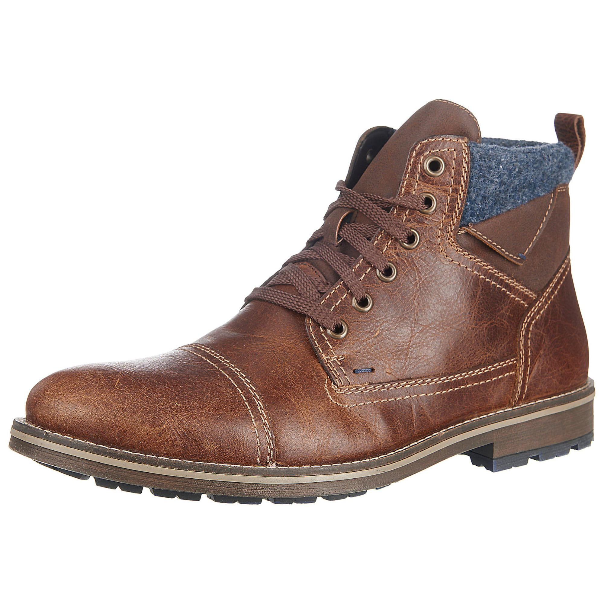 Stiefeletten   Schuhe > Boots   Grau   RIEKER