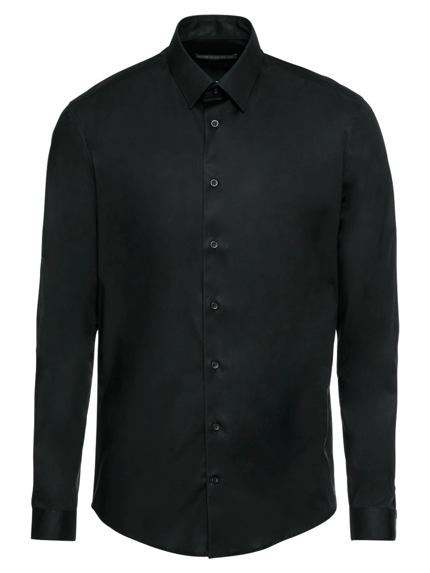 Společenská košile MARIS černá DRYKORN