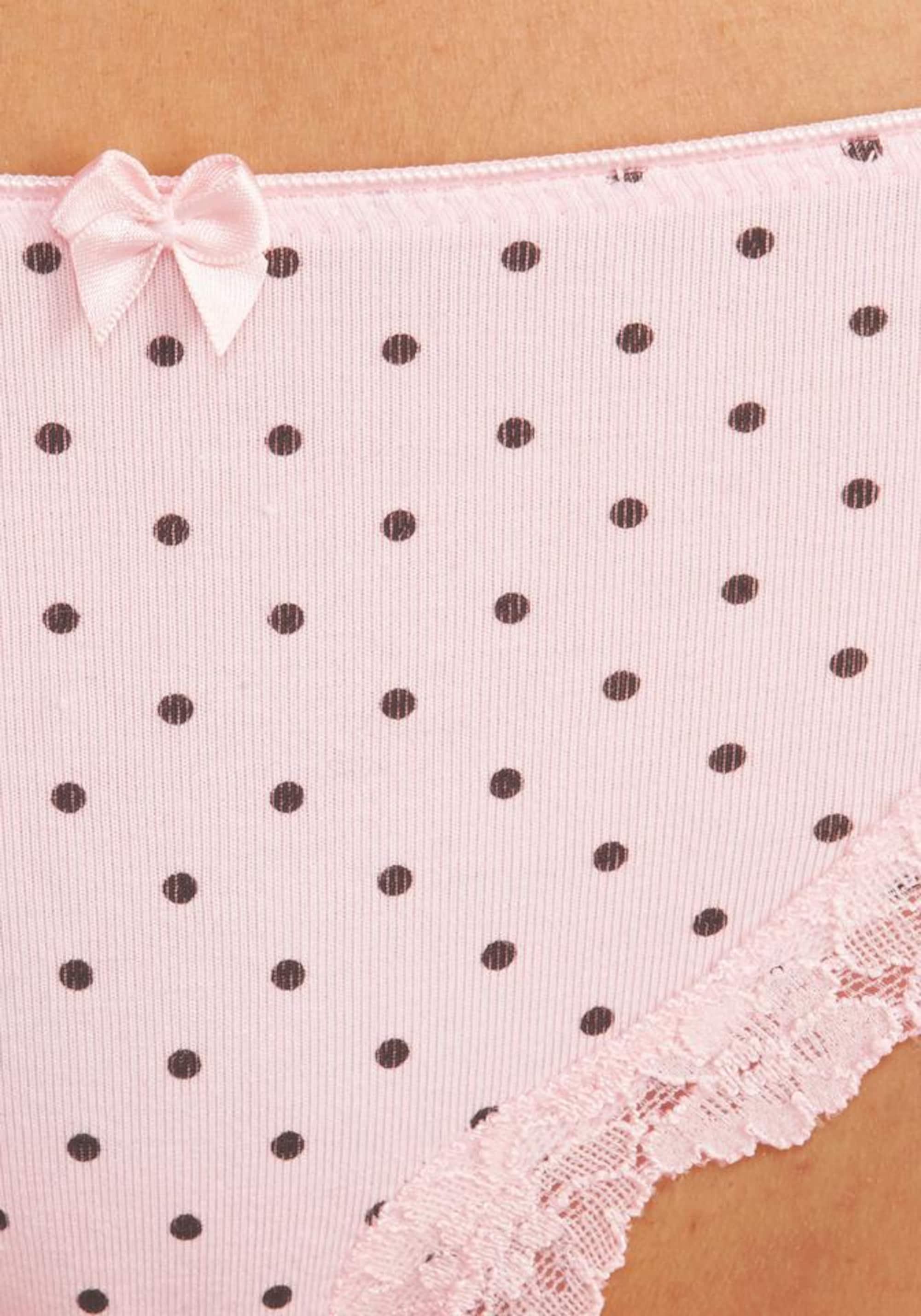 LASCANA Figi  szary / różowy pudrowy
