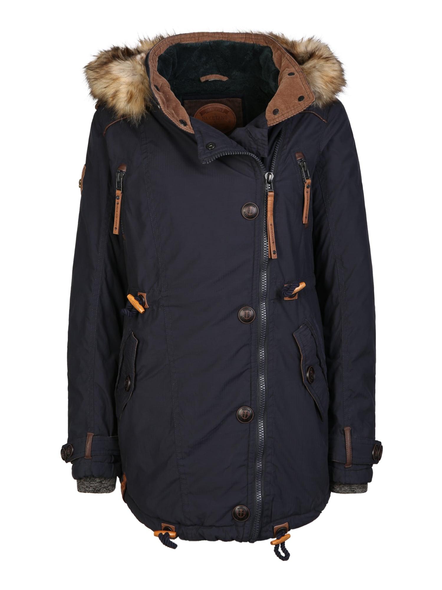 Zimní kabát tmavě modrá Naketano