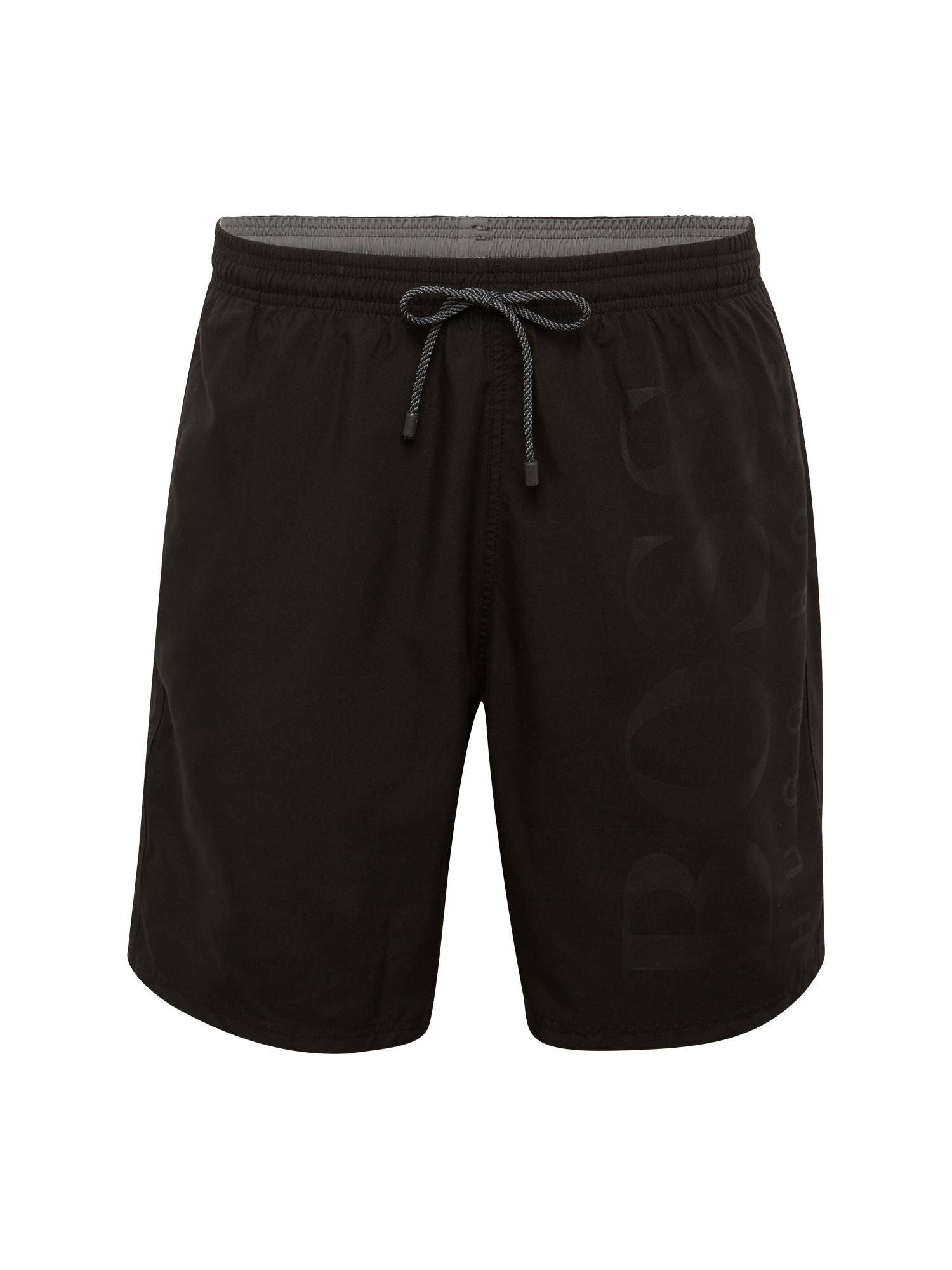 Plavecké šortky BORCA černá BOSS