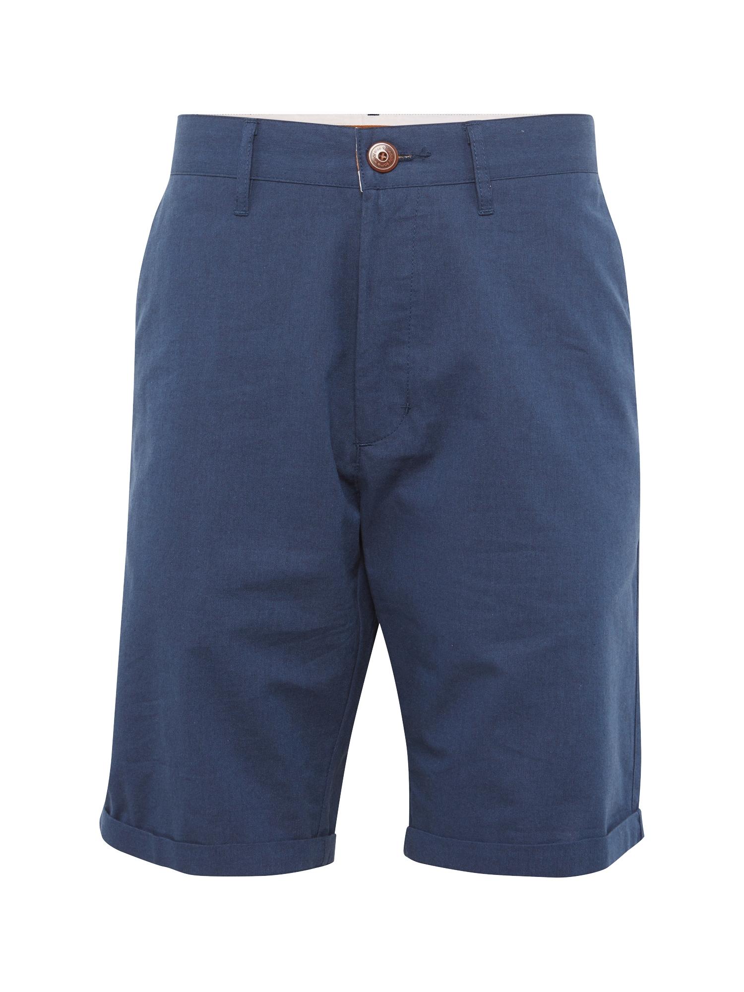 Chino kalhoty Golfer Chambray marine modrá Iriedaily