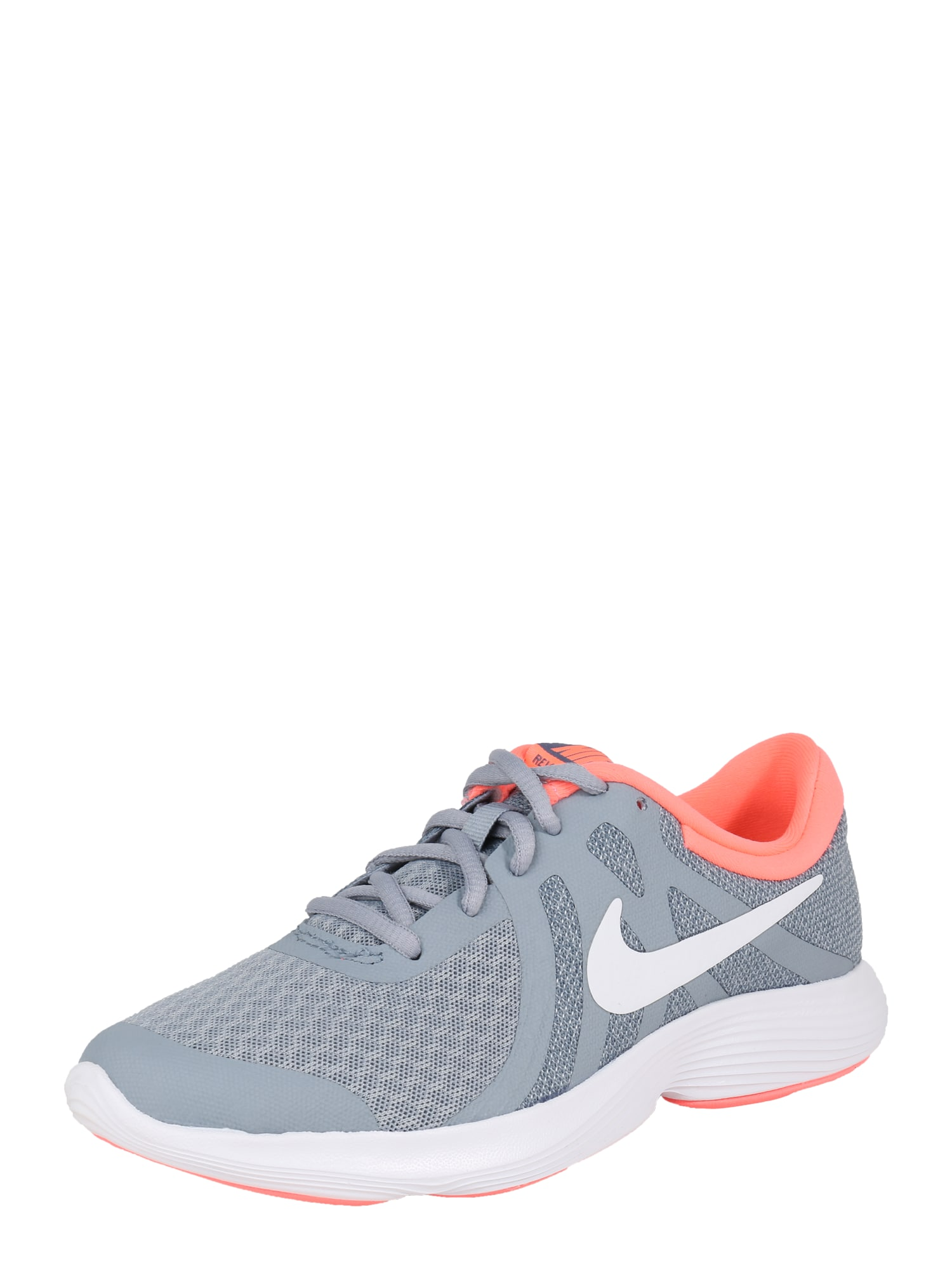 Sportovní boty Revolution 4  světle šedá  svítivě oranžová  bílá NIKE