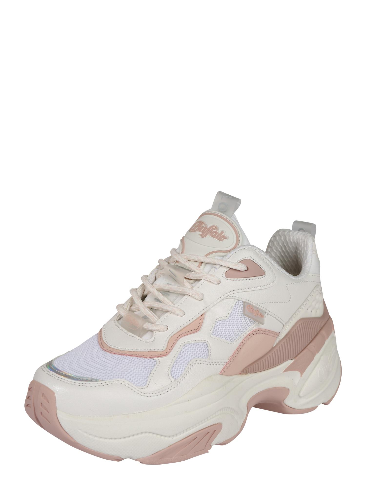 BUFFALO Tenisky 'CREVIS P1'  růžová / bílá