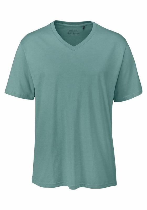 SCHIESSER Herren T-Shirt mit V-Neck jetztbilligerkaufen