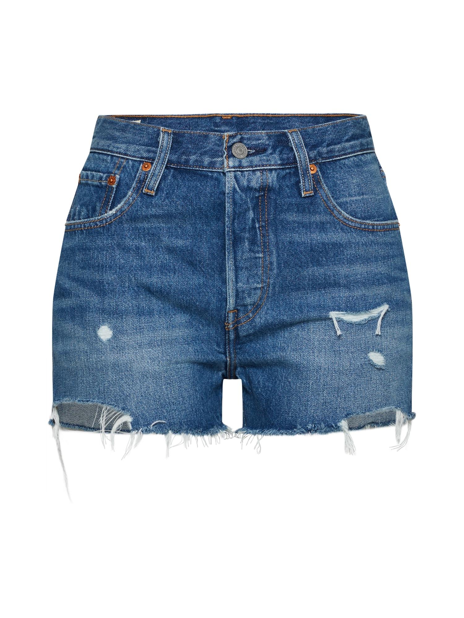 LEVI'S Dames Jeans 501® HIGH RISE blauw denim