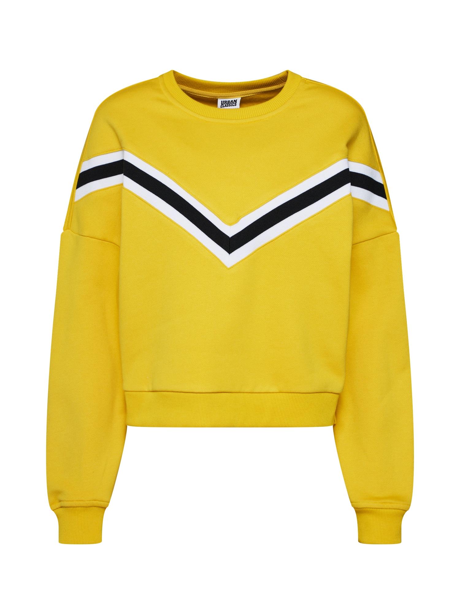 Mikina žlutá černá Urban Classics
