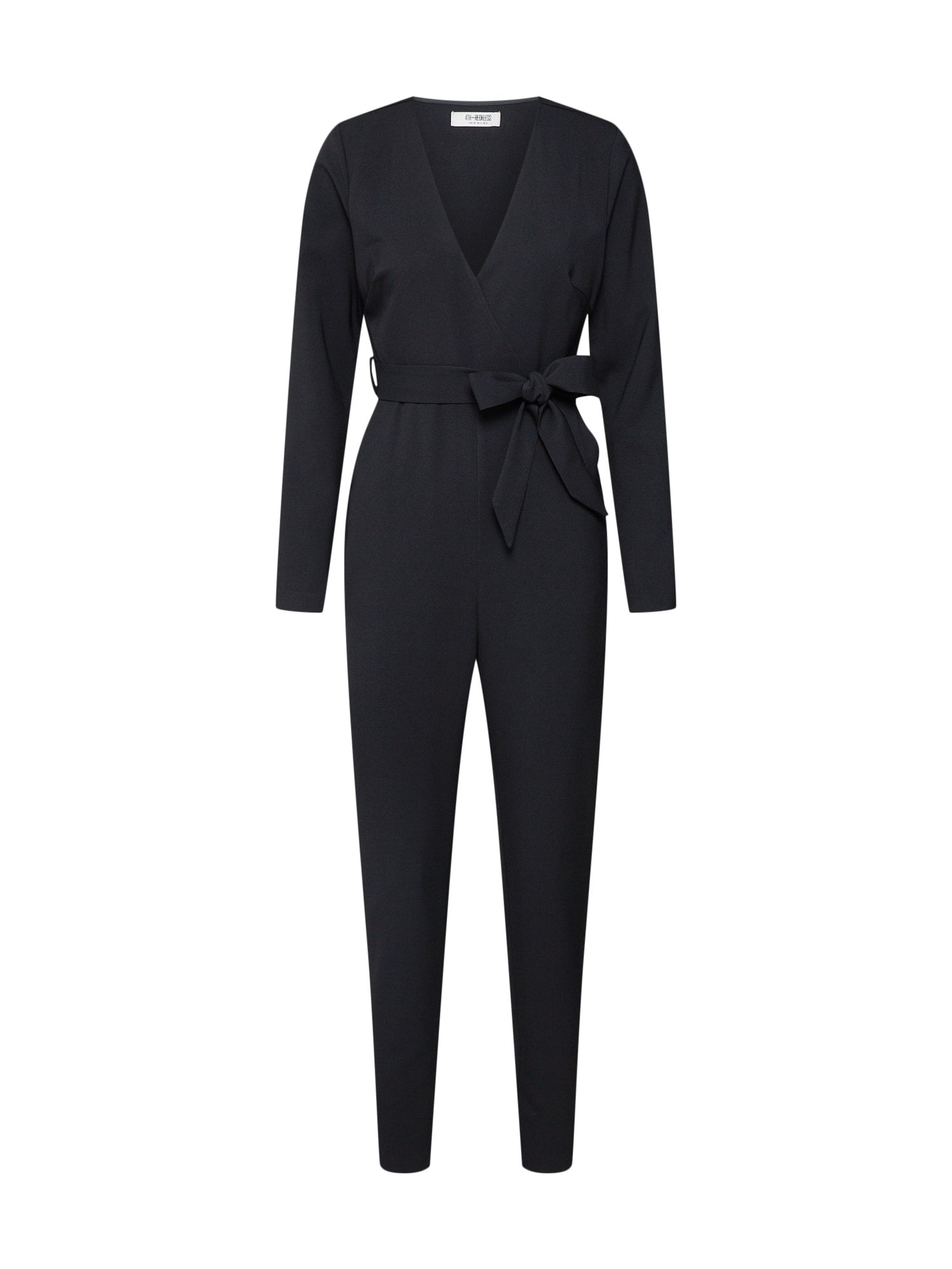 4th & Reckless, Dames Jumpsuit 'BLAIR', zwart
