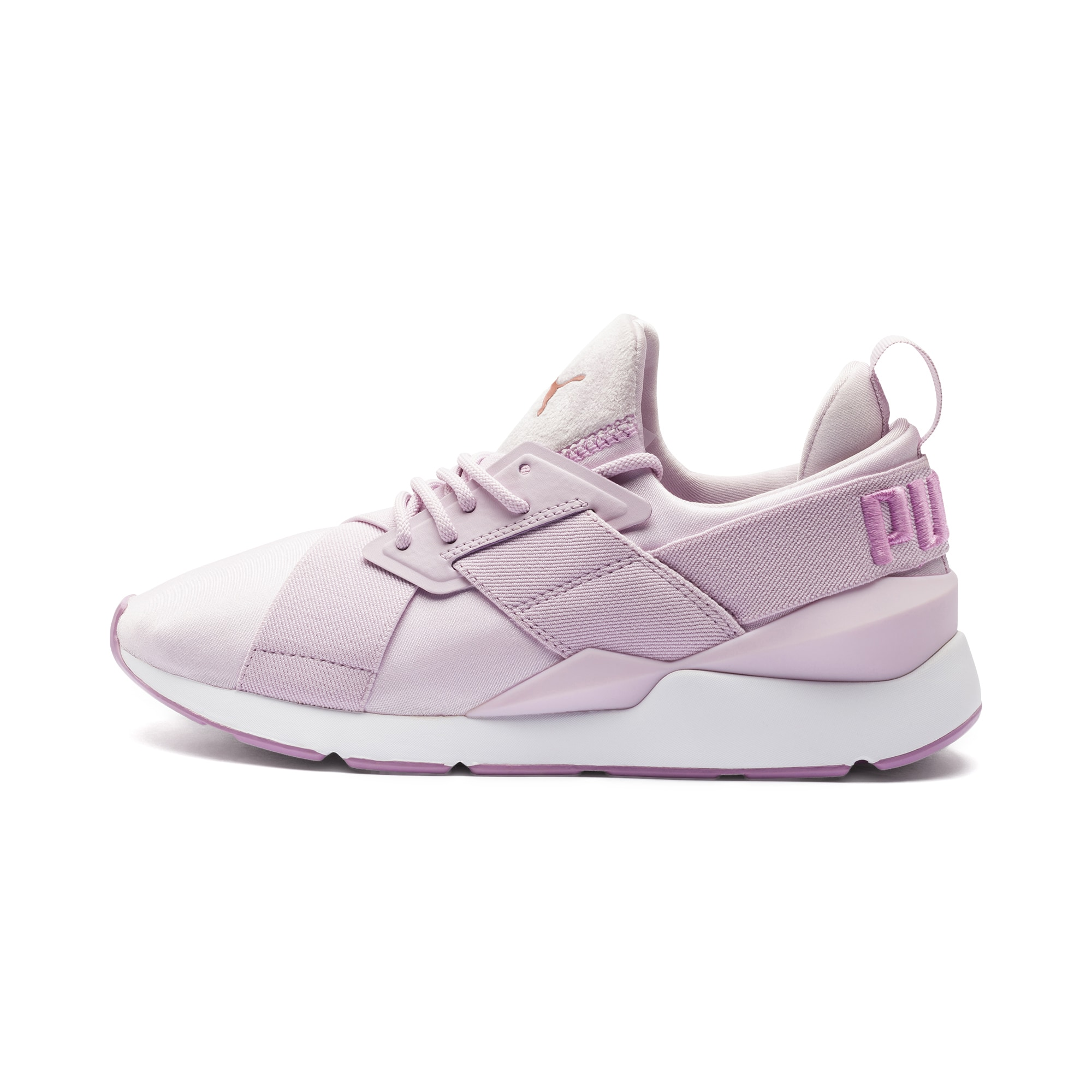 PUMA, Dames Sneakers laag 'MUSE Satin II Wns', sering