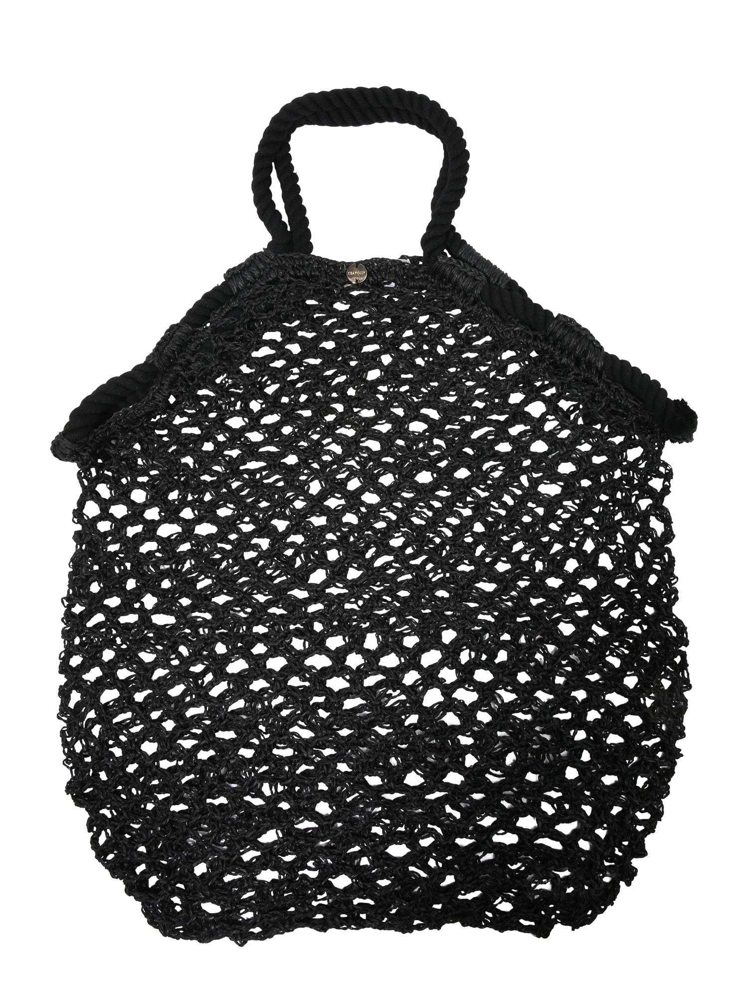 Nákupní taška černá Seafolly