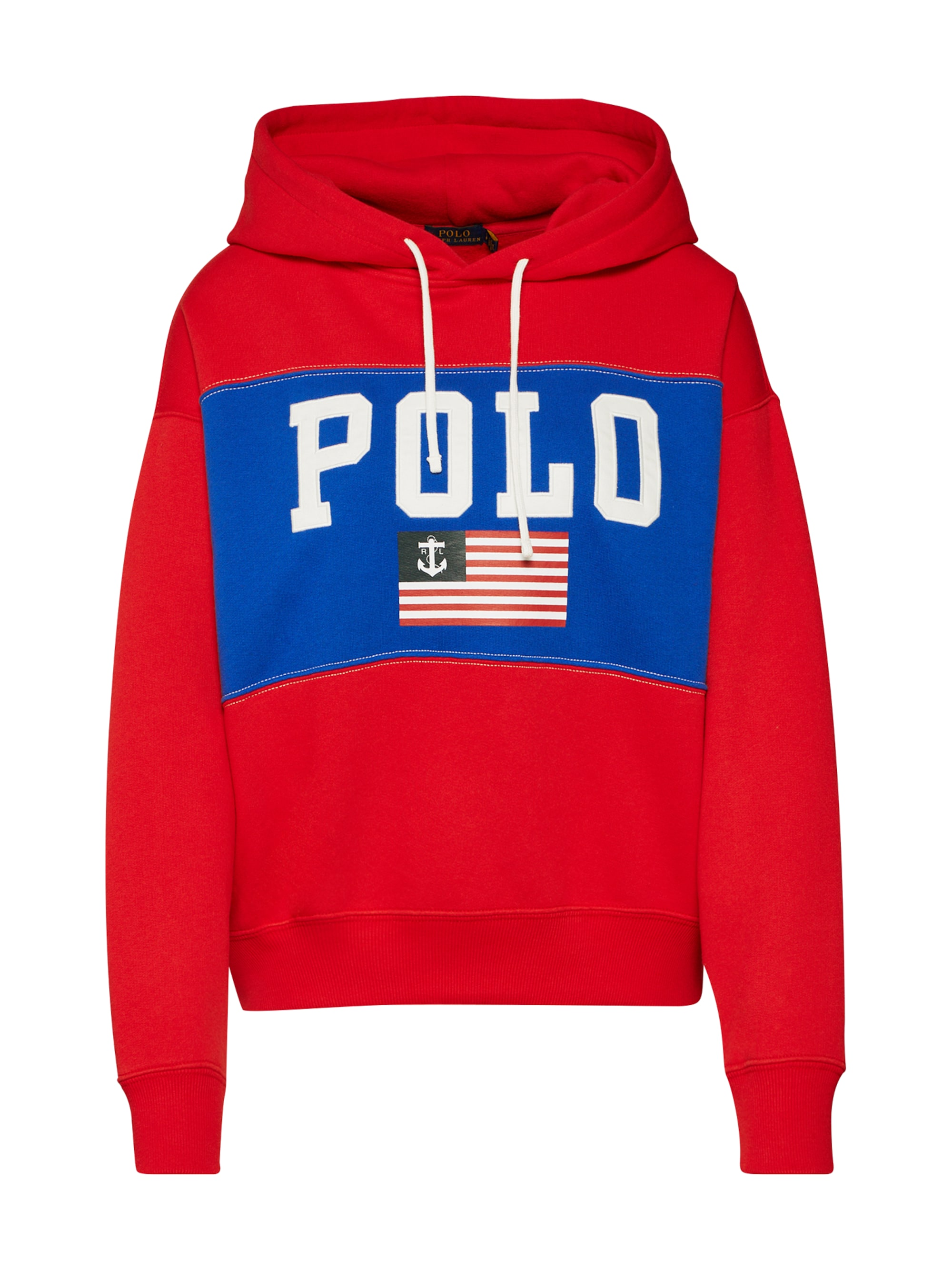polo ralph lauren - Sweatshirt ´RLXD FLAG HD-LONG SLEEVE-KNIT´