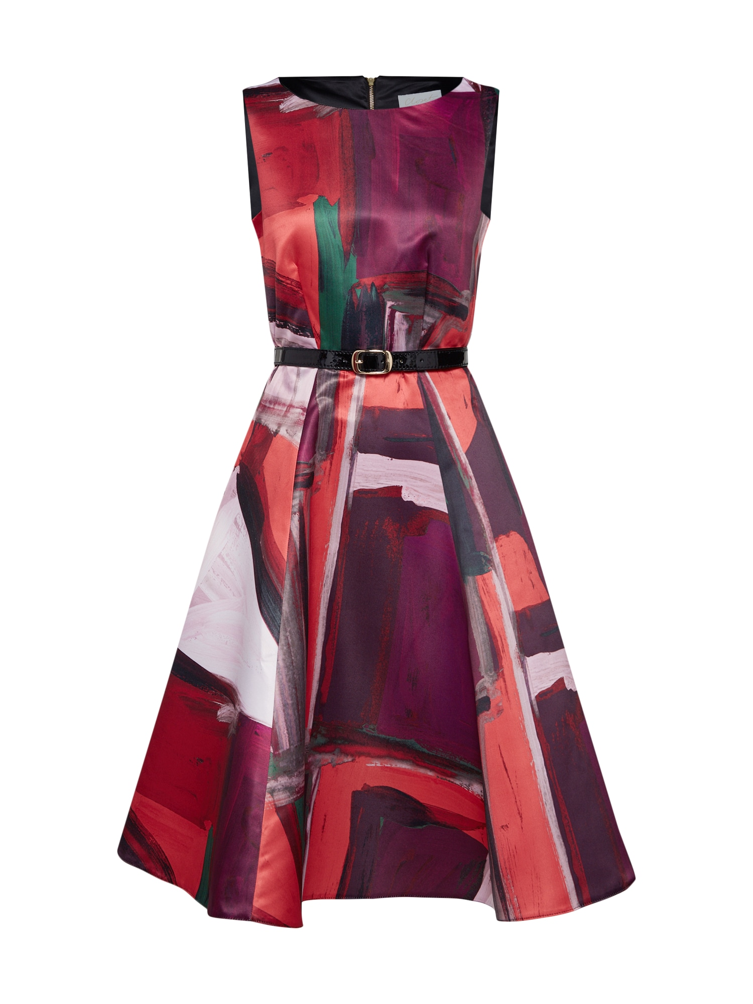 Koktejlové šaty fialová broskvová růžová magenta Closet London